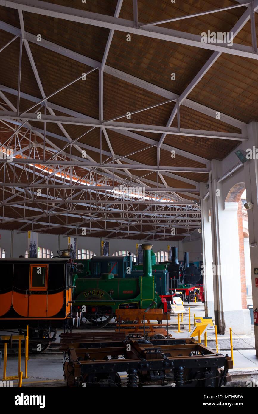 Museo Del Ferrocarril De Catalunya Vilanova I La Geltru Museo Del