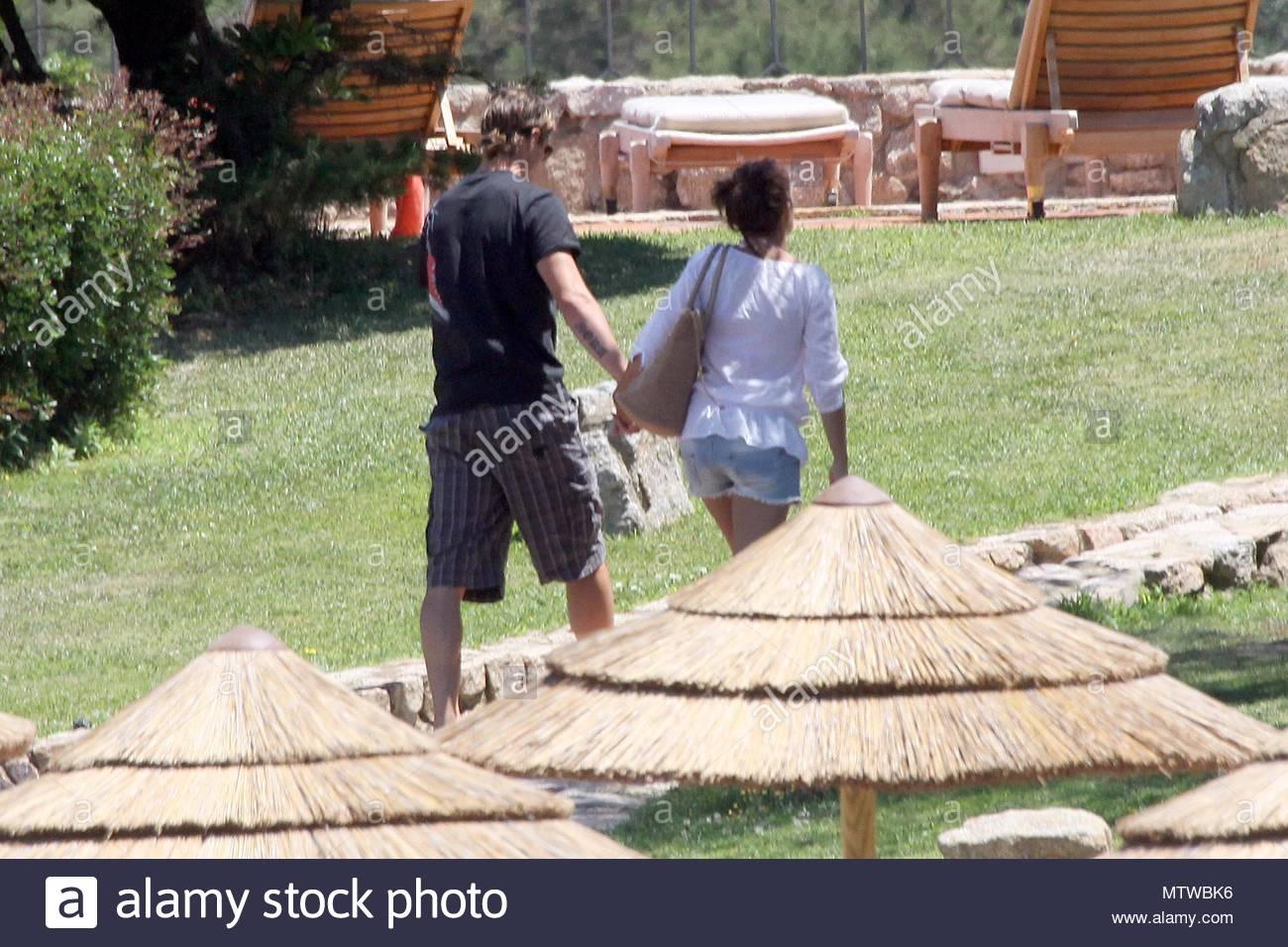 Fernando Torres y su esposa, Olalla Torres. El futbolista español ...
