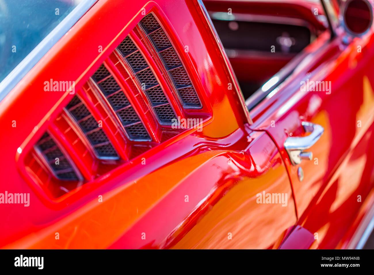 Ford Capri Mk2//3 rejillas de ventilación