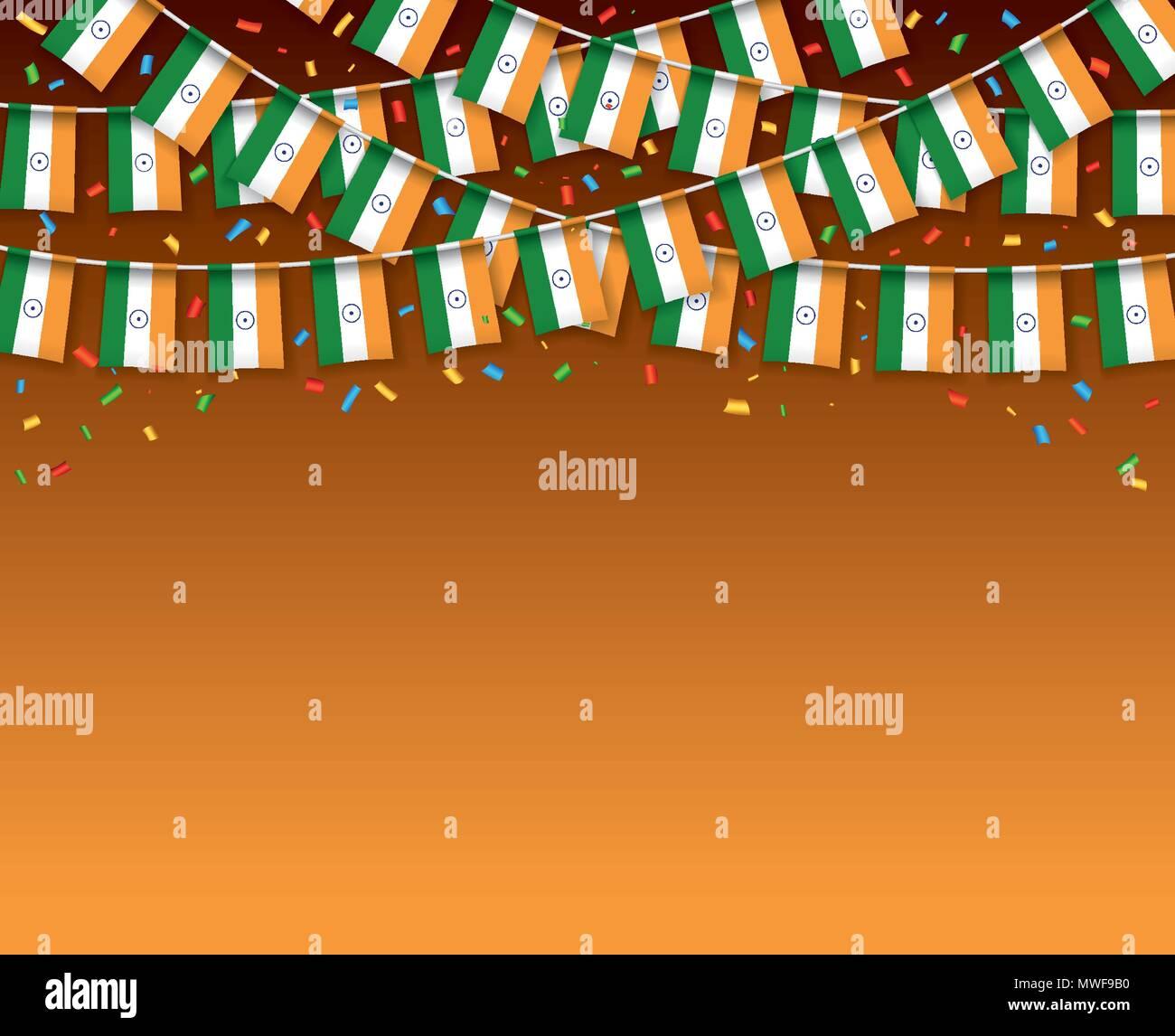 Increíble Día De La Independencia De India Para Colorear Molde ...