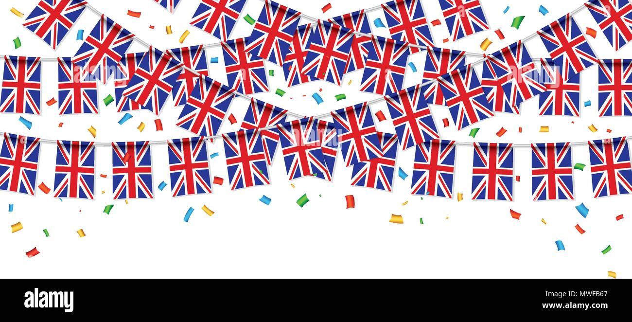 Bonito Plantilla De Bandera Británica Composición - Colección De ...