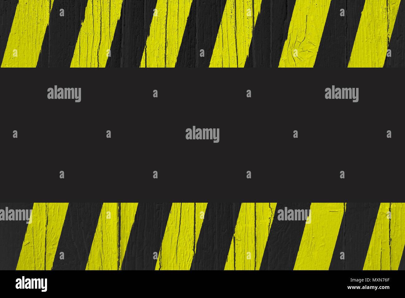 Diagonal Hazard Stripes Texture Weathered Imágenes De Stock ...