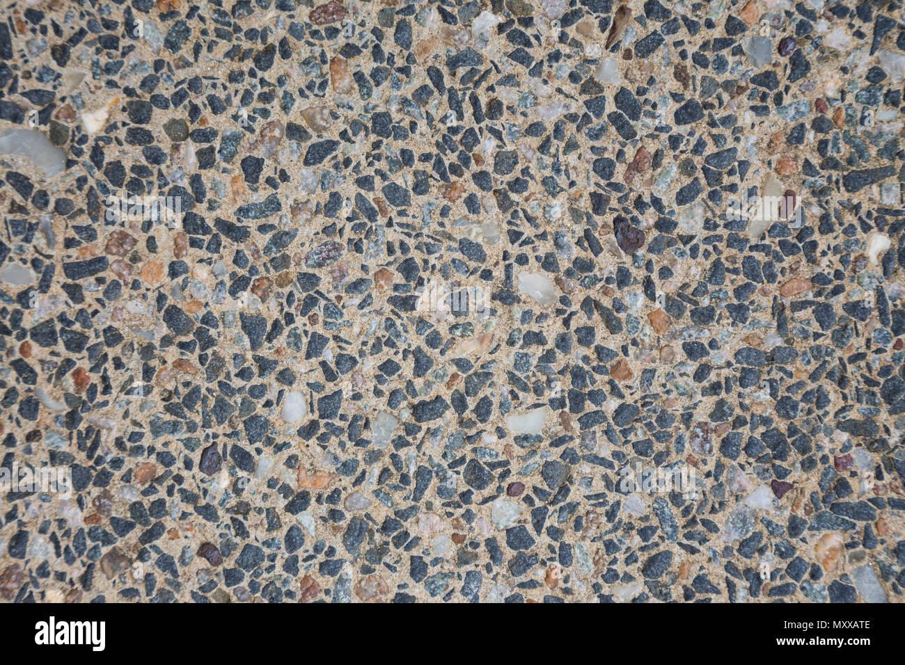 Un agregado de suelo la textura del fondo. Imagen De Stock