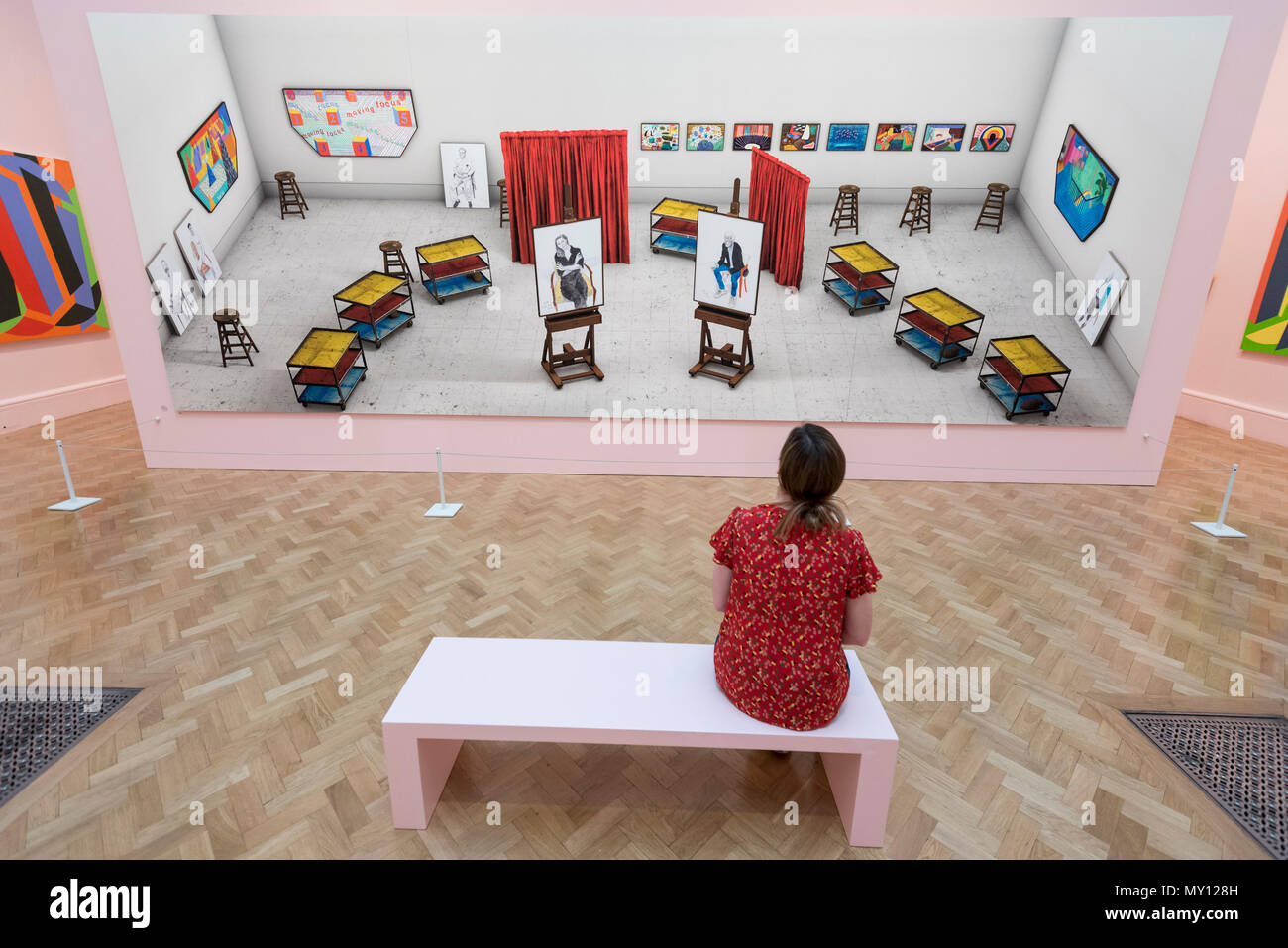 David Hockney Artwork Imágenes De Stock & David Hockney Artwork ...