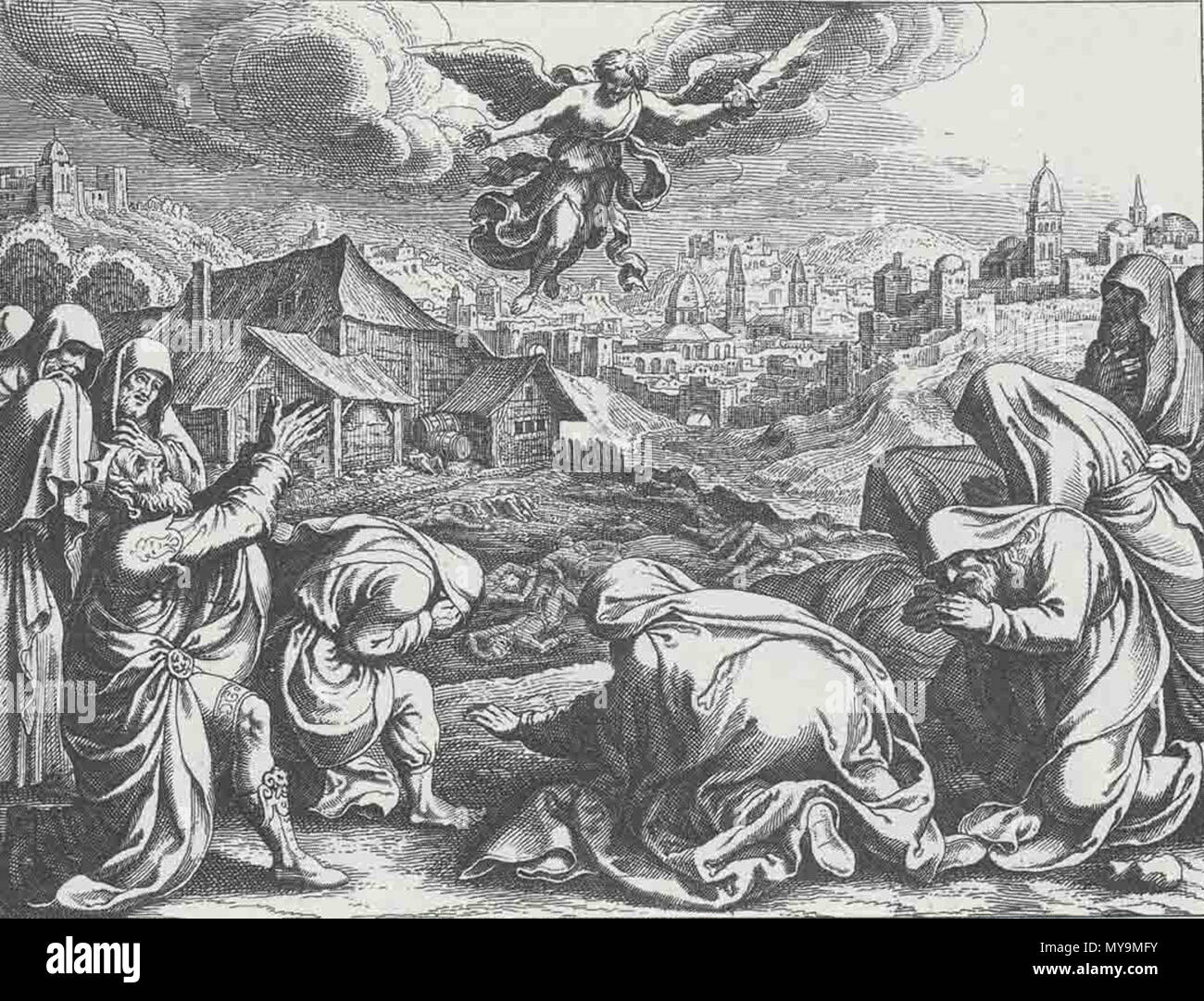 Resultado de imagen de El ángel de la peste en la era de Arauna