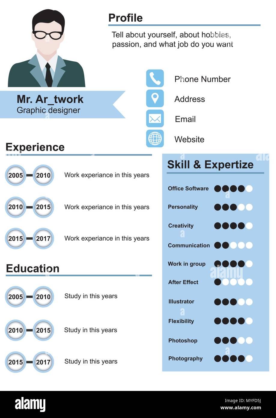 Curriculum Vector Vectors Imágenes De Stock & Curriculum Vector ...