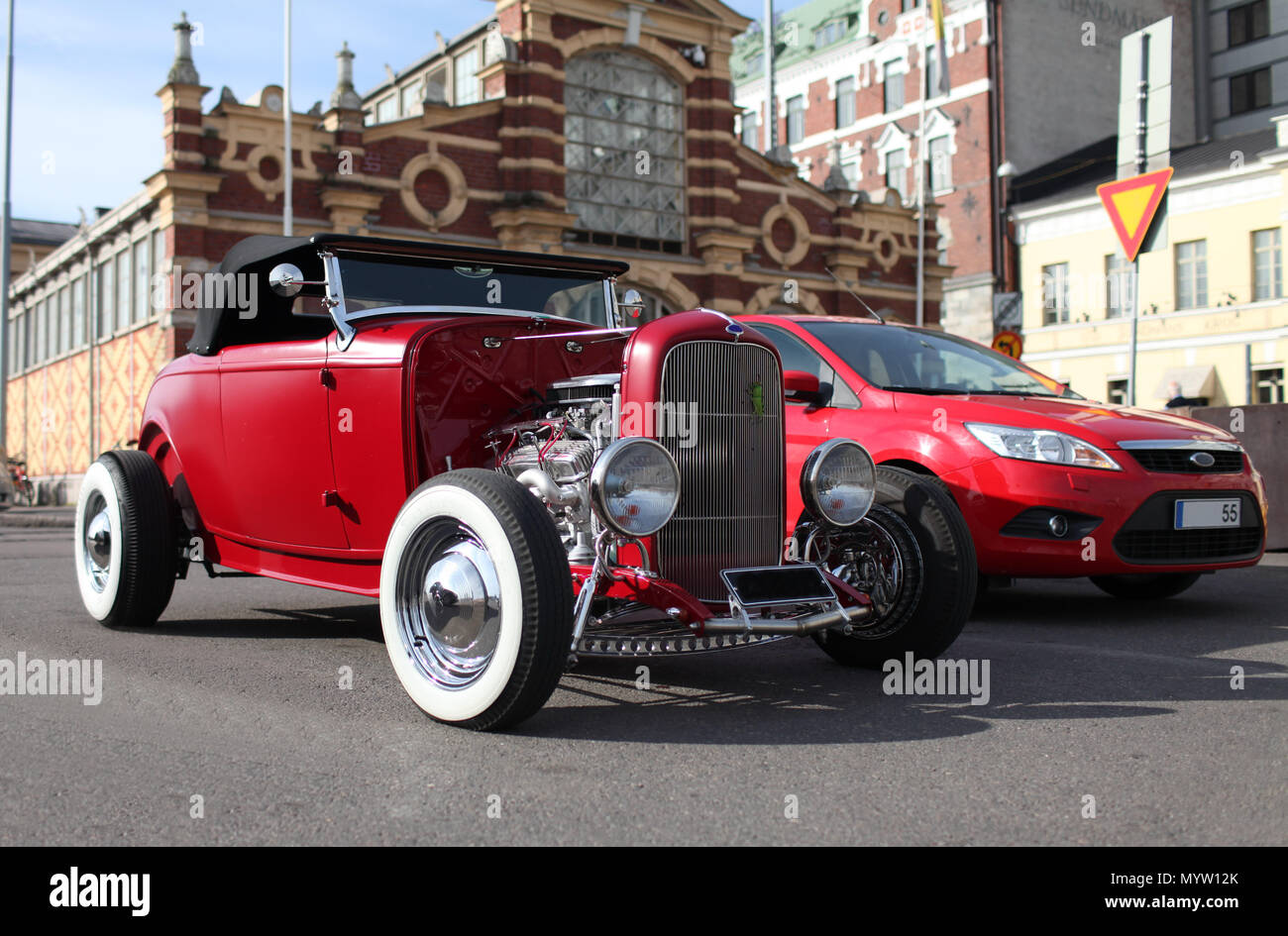 Ford Hot Rod Roadster Imágenes De Stock & Ford Hot Rod Roadster ...