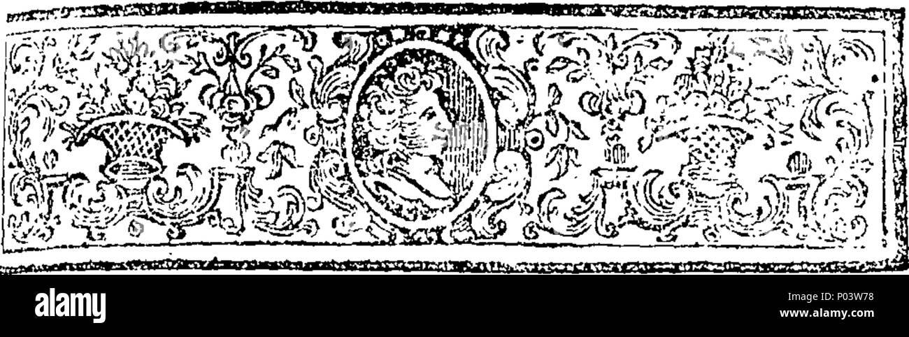 Inglés Fleuron De Libro Compleat Historia Del Difunto Refección