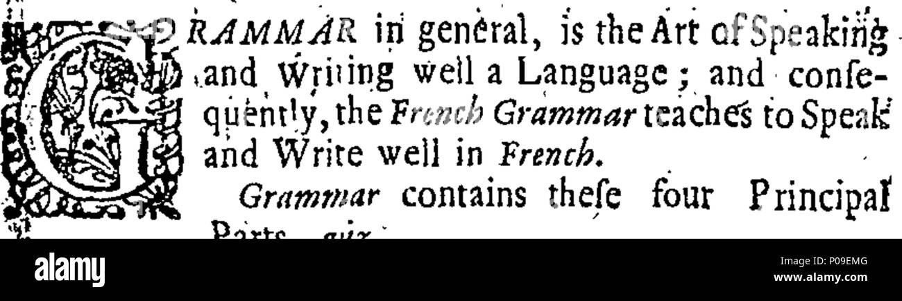Inglés Fleuron Un Nuevo Libro De Gramática Francesa Que