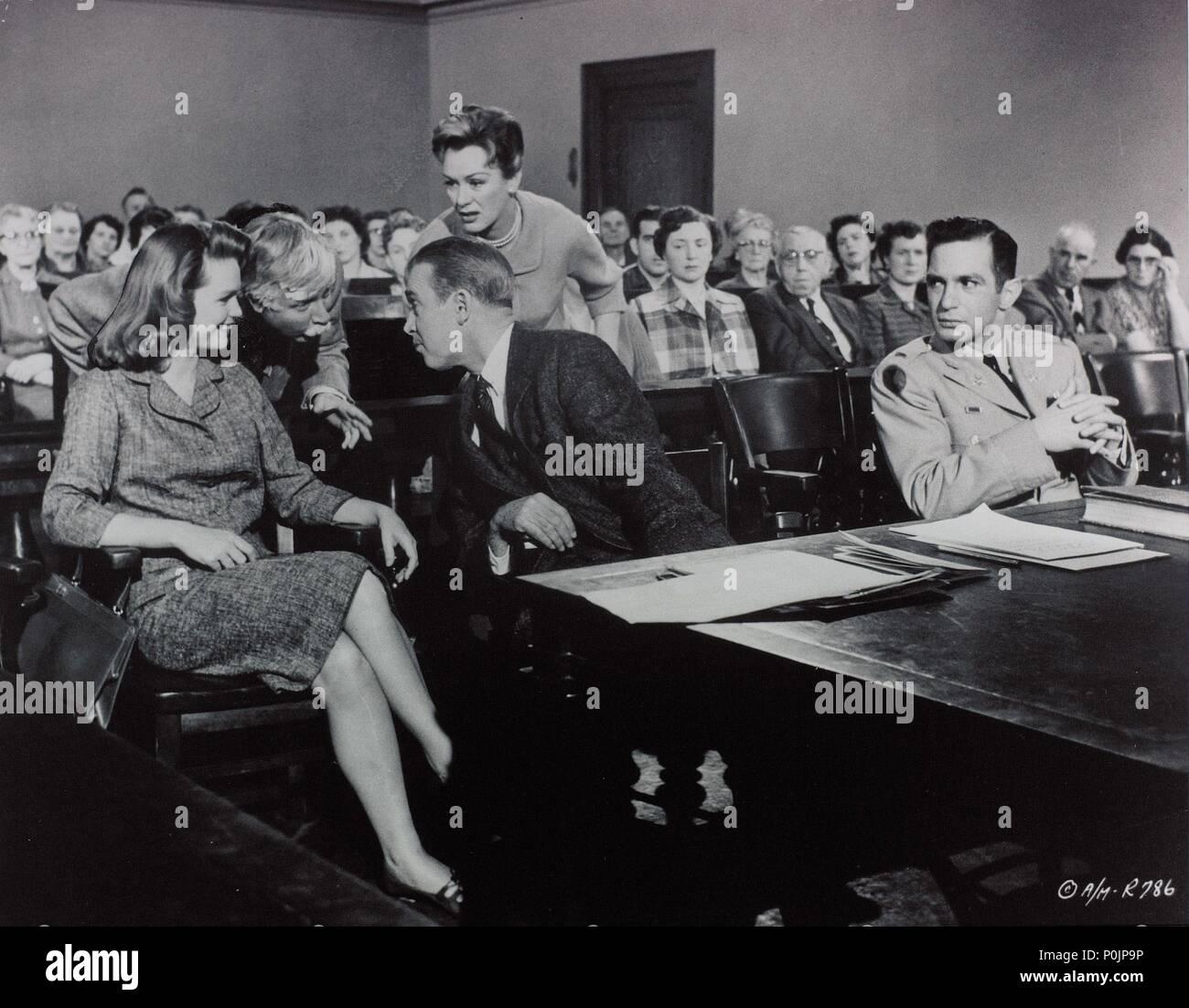 Bonito Duke Ellington Anatomía De Un Asesinato Ilustración ...