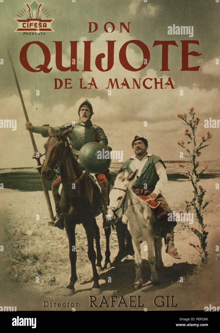 El Título Original De La Película Don Quijote De La Mancha Título En Inglés Don Quijote