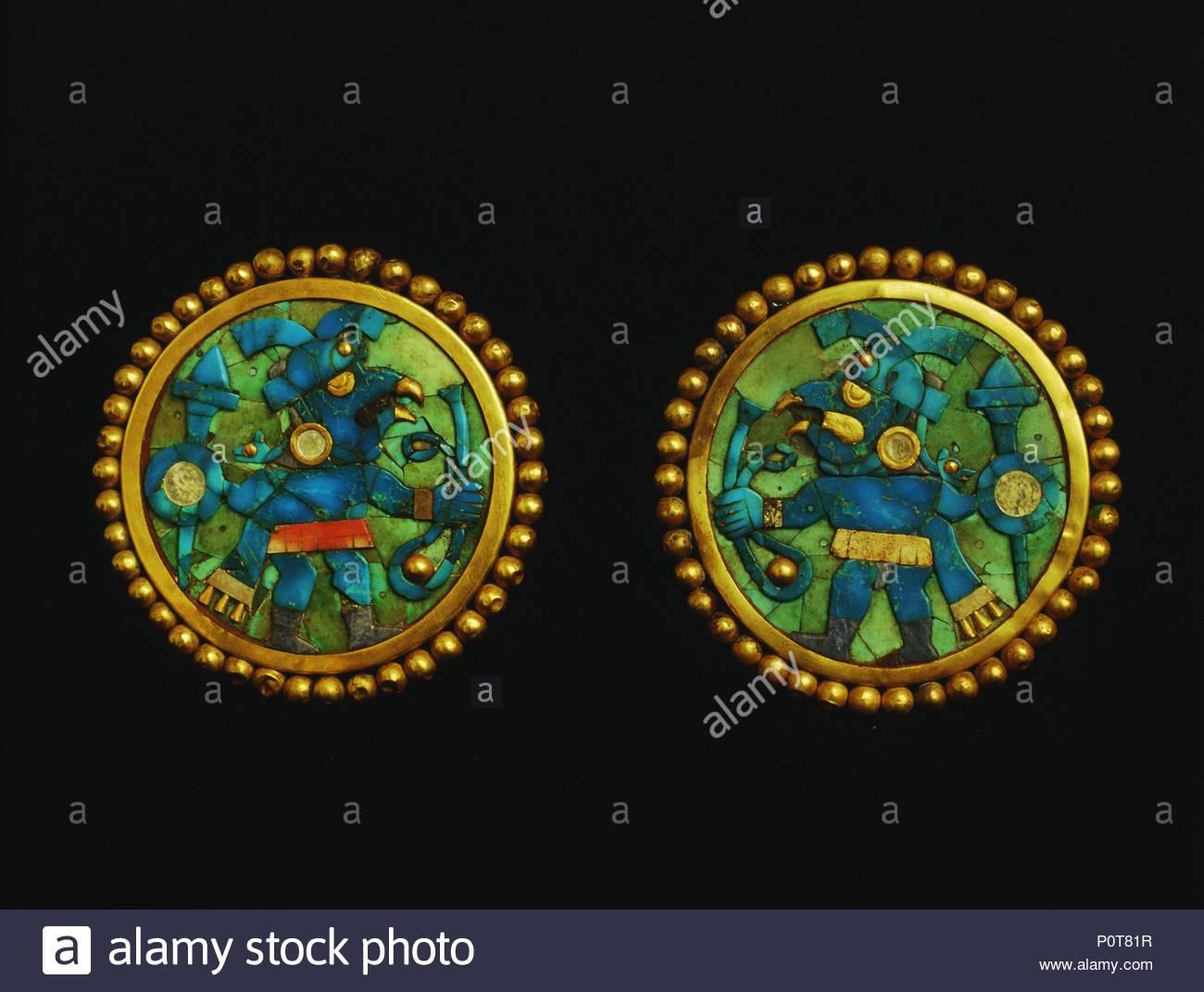 c6dc17825d31 Aretes de oro con turquois