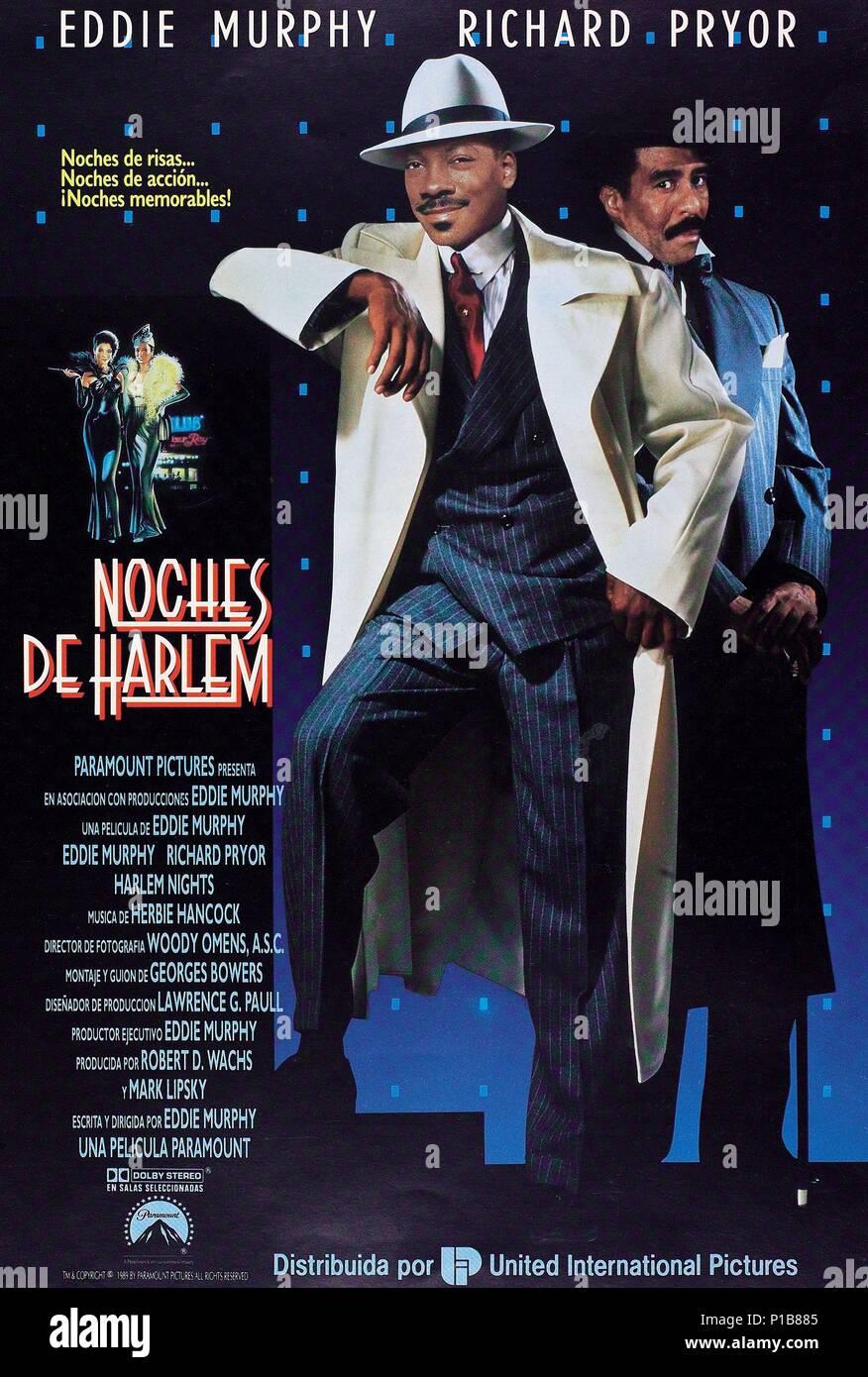 fb288e4ed4f El título de la película original  Noches de Harlem. Título en inglés   Noches