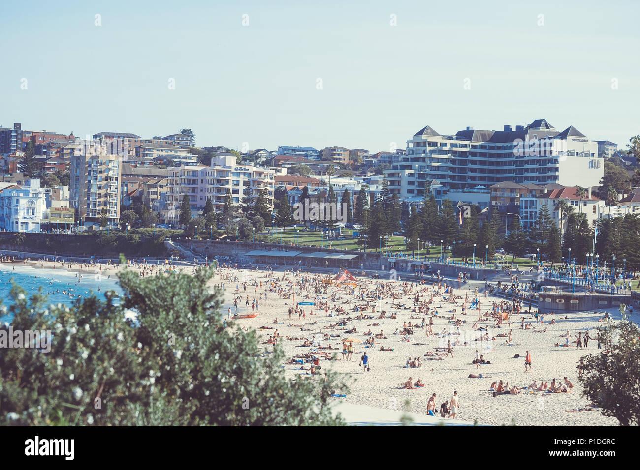 Bondy Beach Sydney Australia Foto de stock