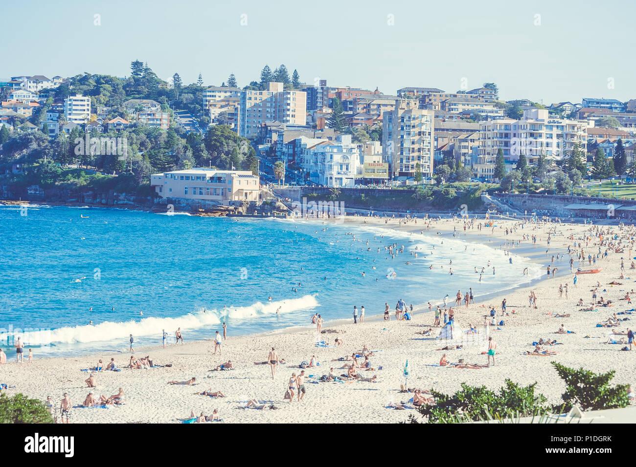 Bondi Beach Australia Syndey Foto de stock