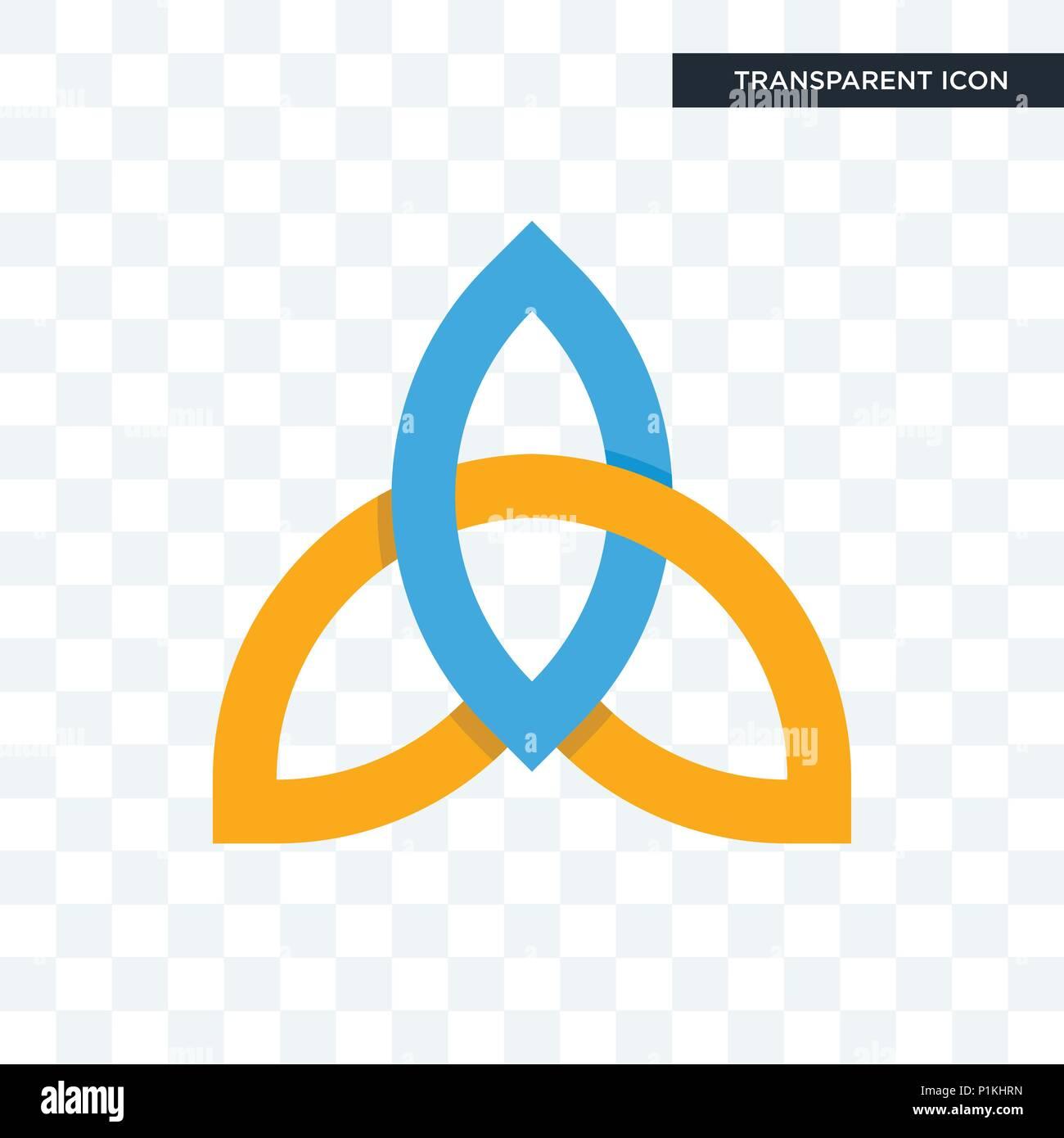 Santísima Trinidad Icono Vectorial Aislado Sobre Fondo Transparente La Santísima Trinidad Concepto Logotipo Imagen Vector De Stock Alamy