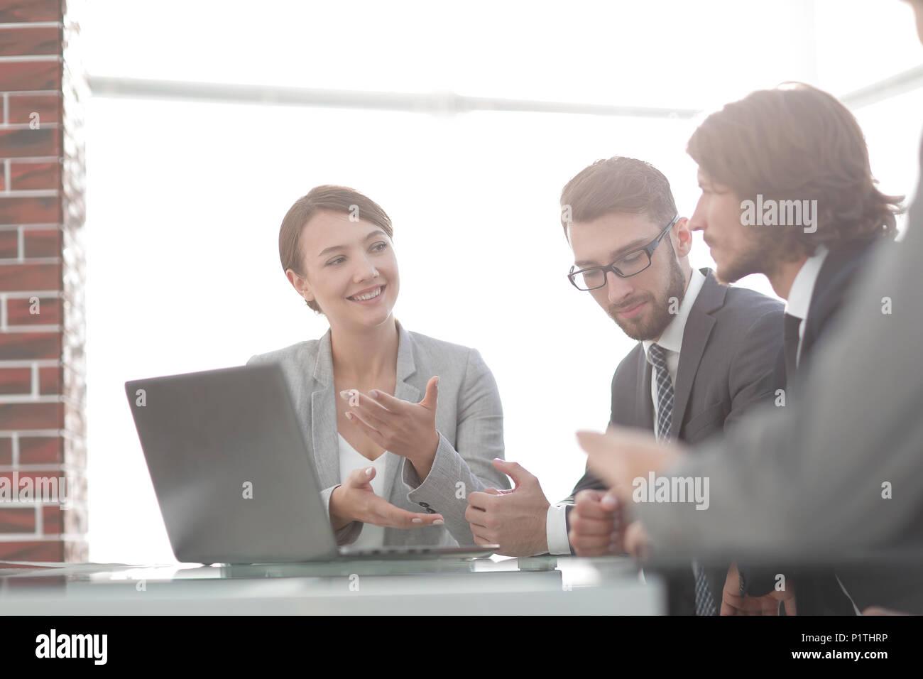 Reuniones corporativas Business Group Imagen De Stock