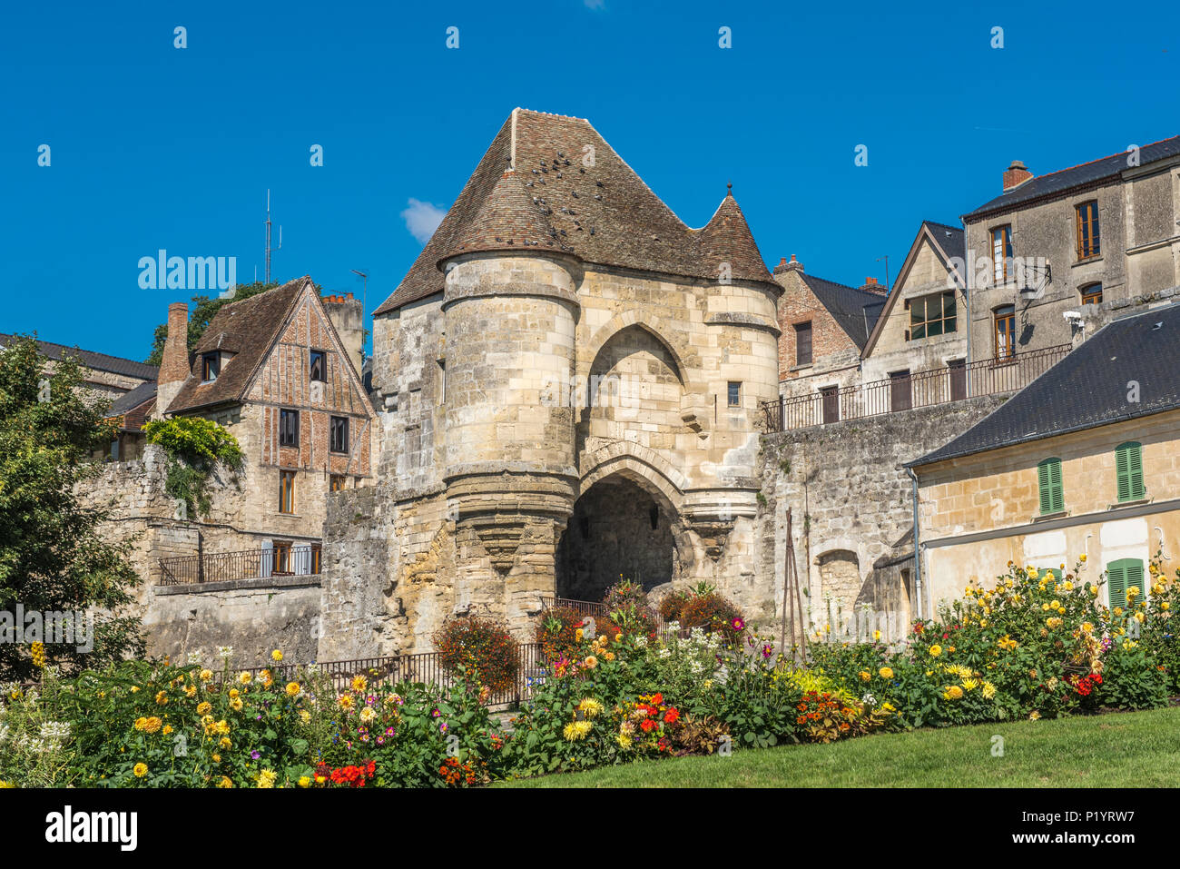 Francia Aisne Laon Ciudad De Arte E Historia Camino De Santiago