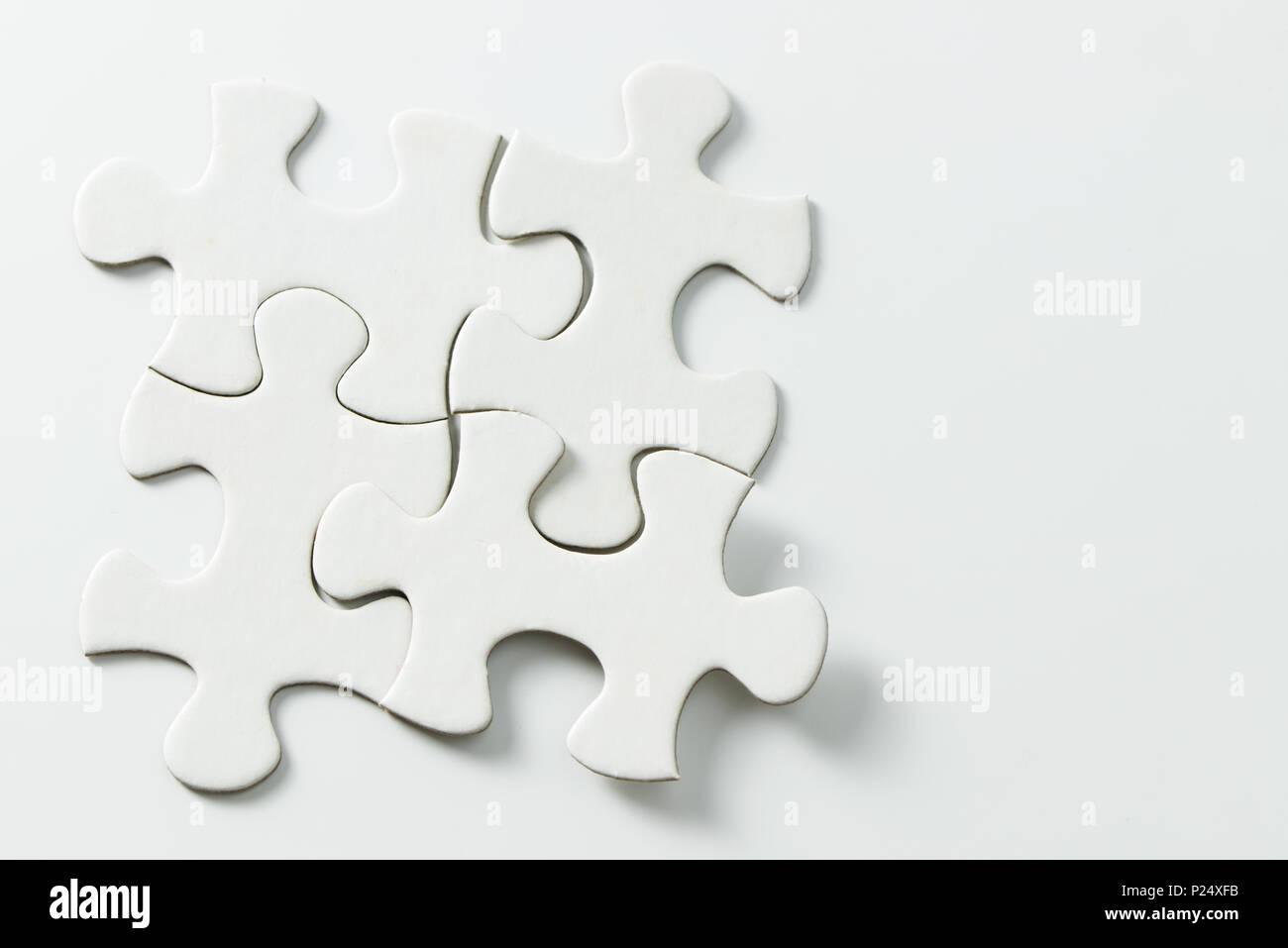 Puzzle Pieces 4 Imágenes De Stock & Puzzle Pieces 4 Fotos De Stock ...