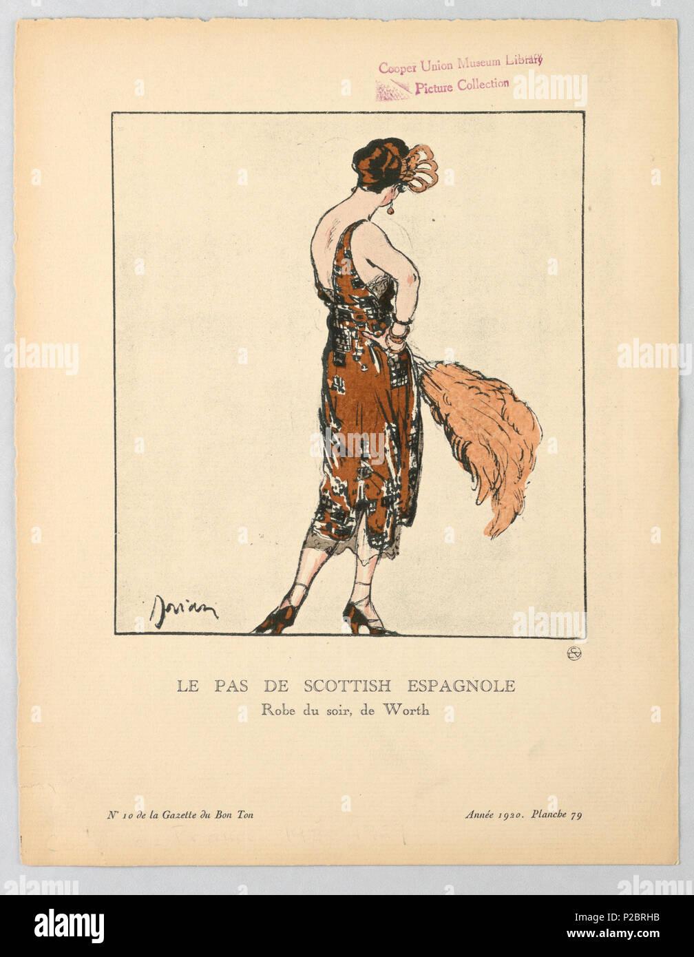 Inglés Imprimir Francia 1920 Inglés El Título Dice