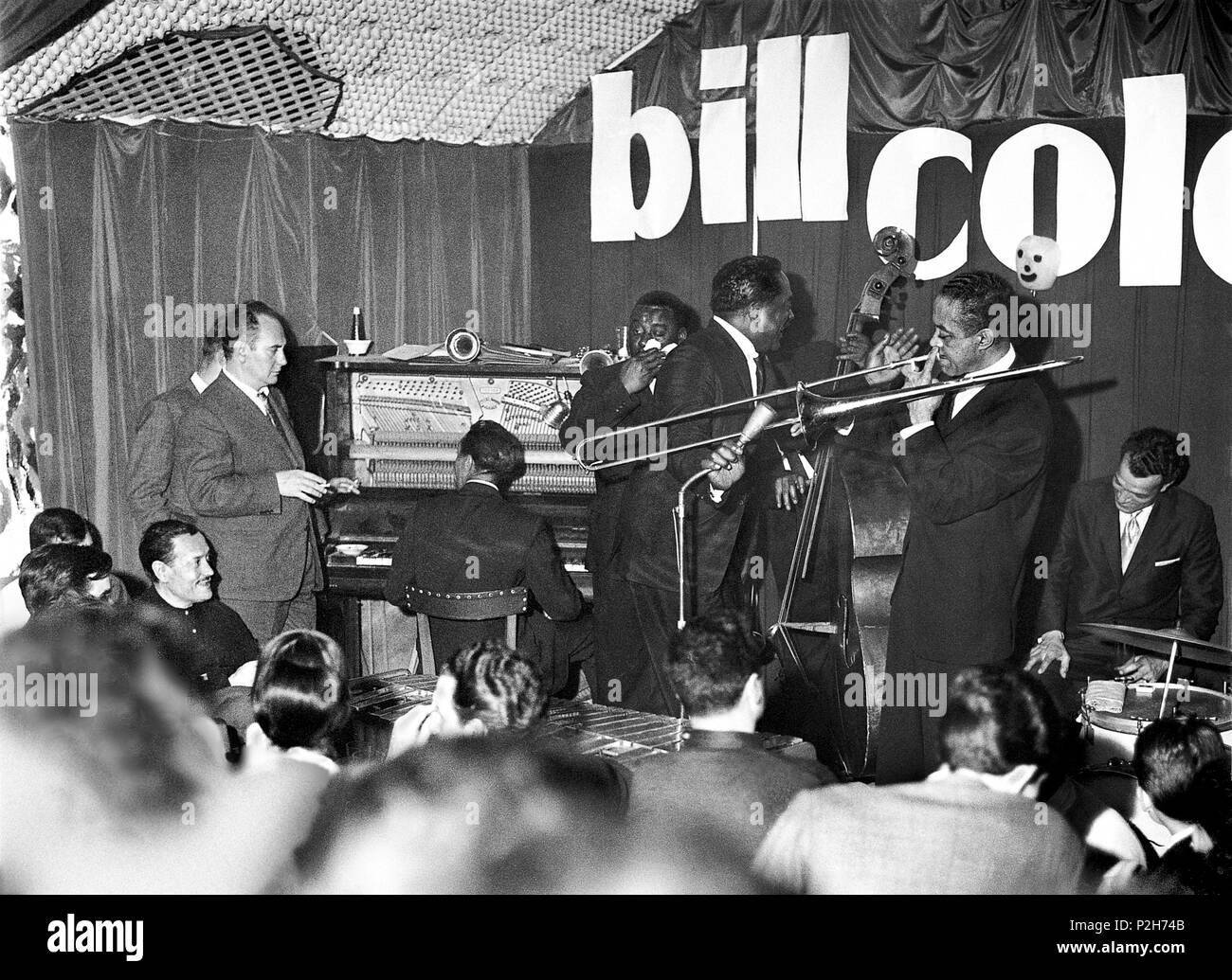 40afd31d5 El trompetista de jazz Bill Coleman en concierto, en la sala ...