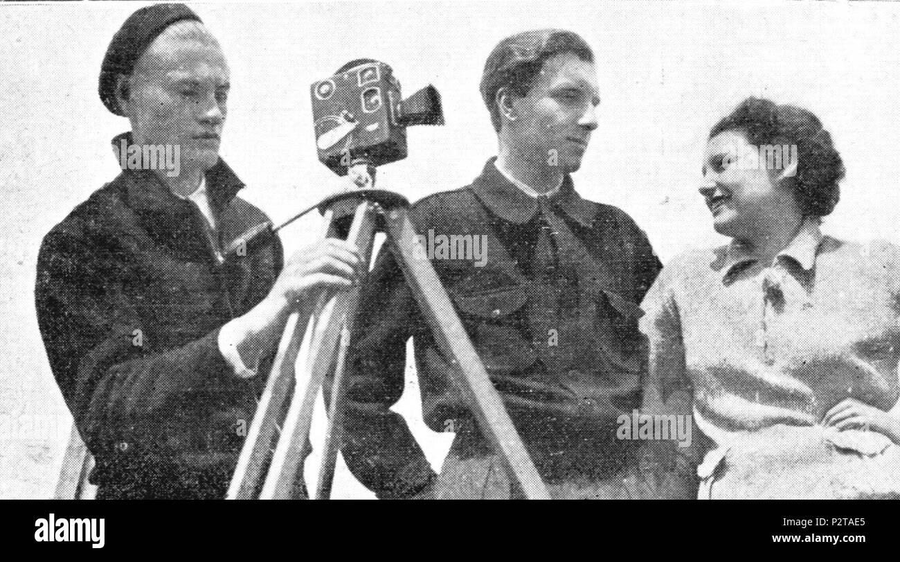 Mino damicelli + Francesco Pasinetti + nina simonetti 25 Entusiasmo 1933 damicelli+pasin+simonetti Imagen De Stock
