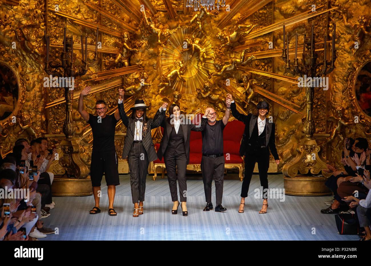 ba798416081690 Dolce Gabbana Mens Fashion Week Imágenes De Stock & Dolce Gabbana ...