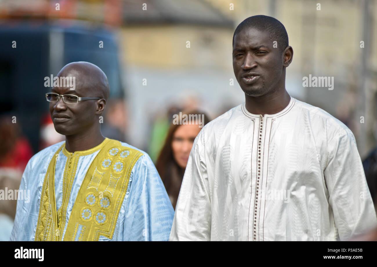 Africanos hombres Los hombres