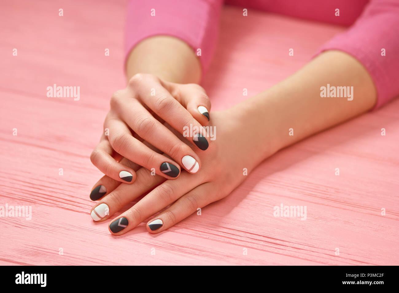 Classic Manicure Imágenes De Stock & Classic Manicure Fotos De Stock ...