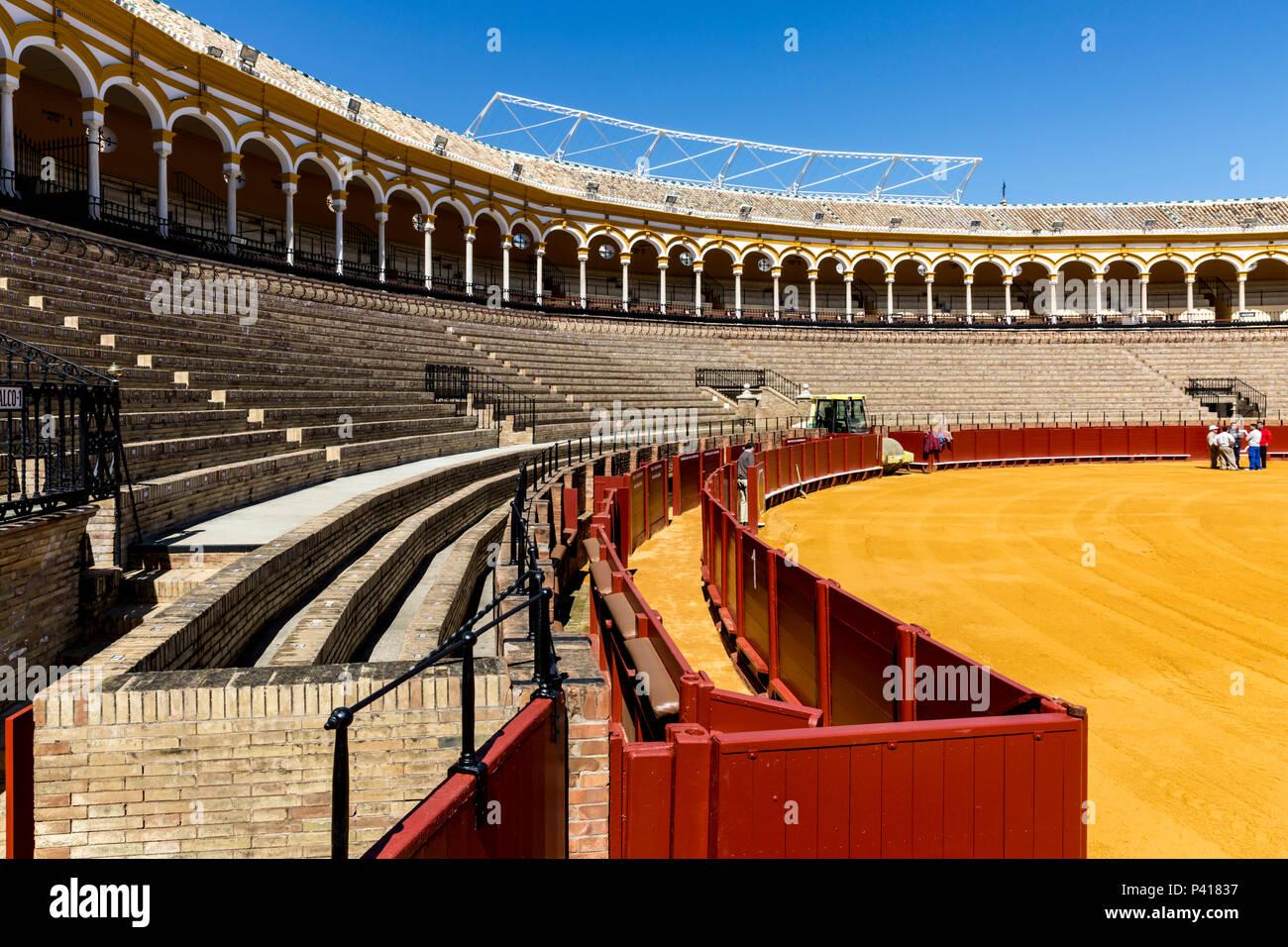 Plaza De Toros De Sevilla El Cultivo En Terrazas La Plaza
