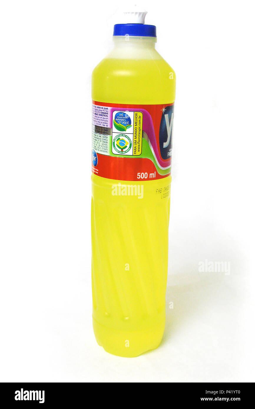 Embalagem de detergente líquido lava Líquido Detergente Líquido Louças Limpeza Lava-higiene louças na cozinha Embalagem de detergente com 500 ml Imagen De Stock