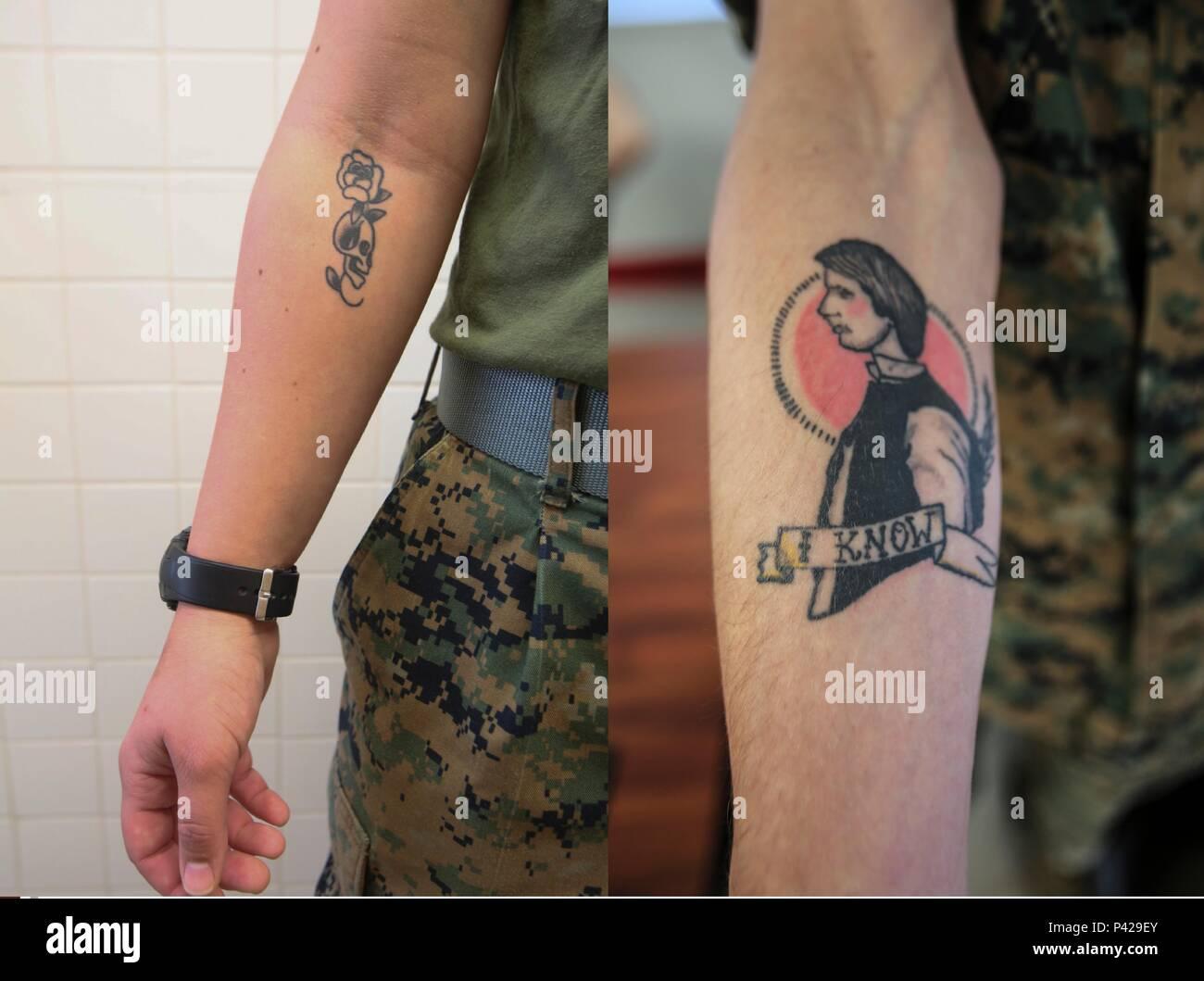 Con Los Cambios En El Boletín Del Cuerpo De Infantería De Marina De