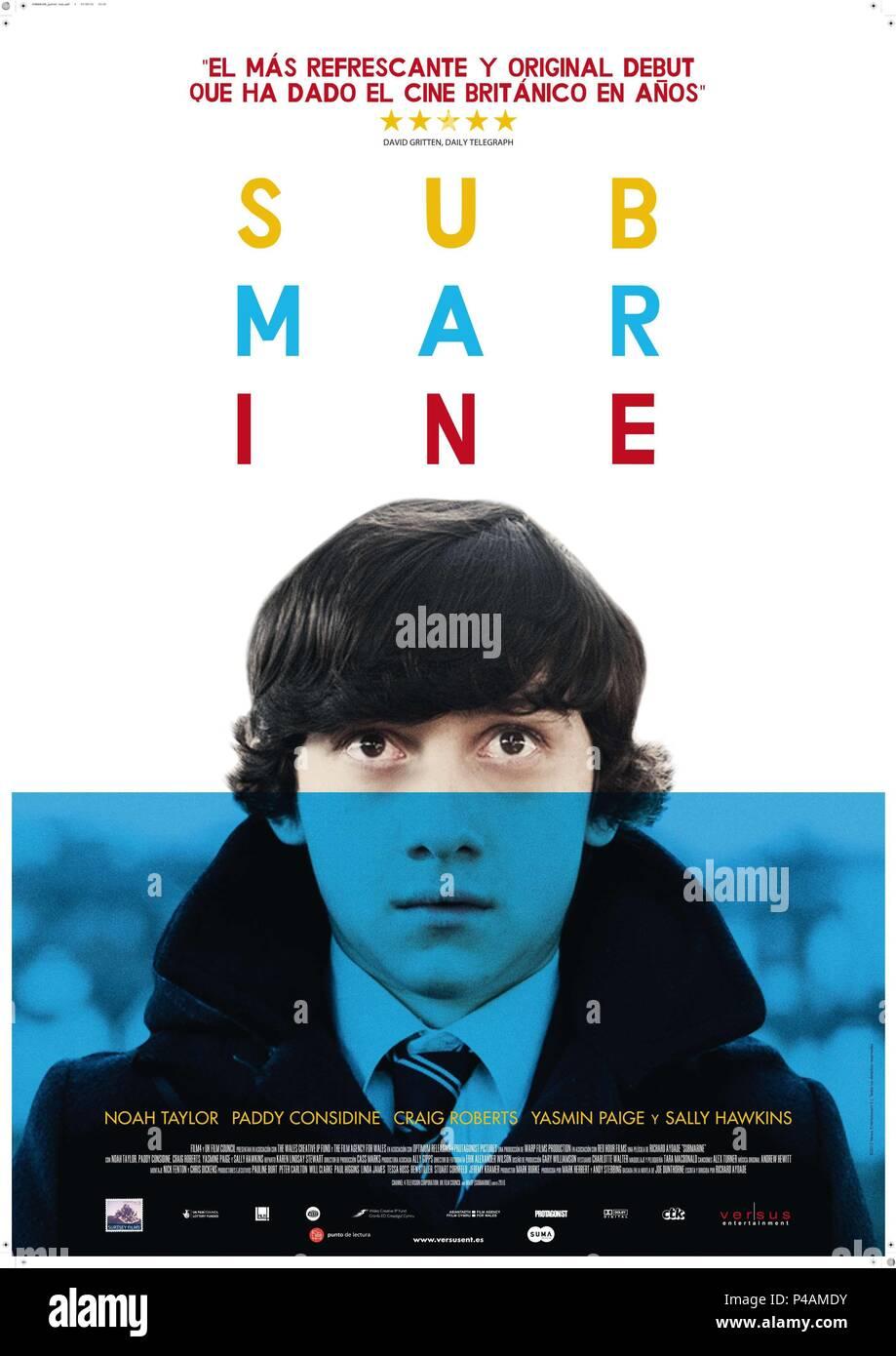 El título original de la película: el submarino. Título en inglés: Submarino. El director de cine: Richard Ayoade. Año: 2010. Crédito: FILM 4 / Álbum Imagen De Stock