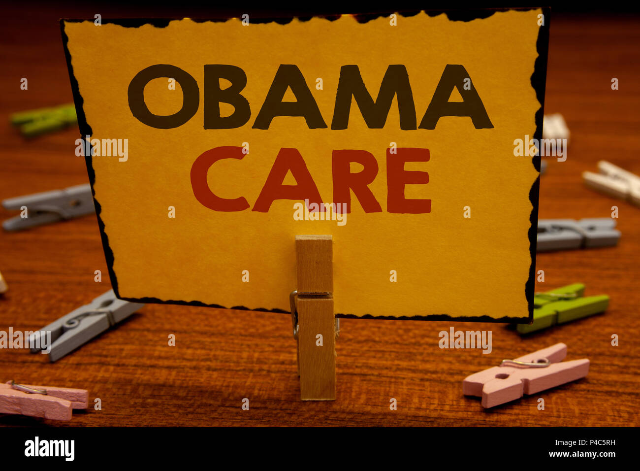 Palabras Escribir Textos Obama Cuidado Concepto De Negocio Para El