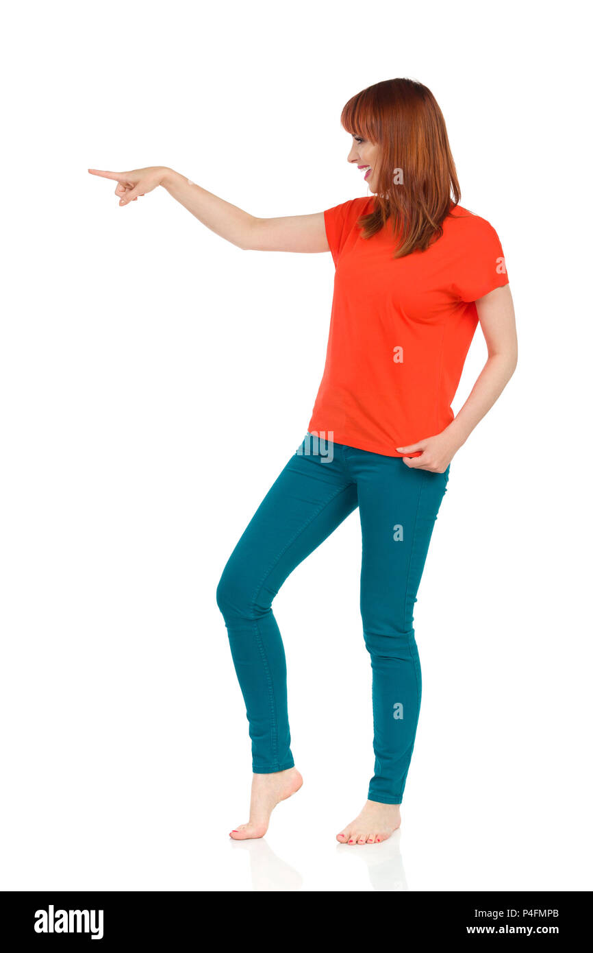 d436d9bad4 Arm Jeans Laughing Looking Imágenes De Stock   Arm Jeans Laughing ...