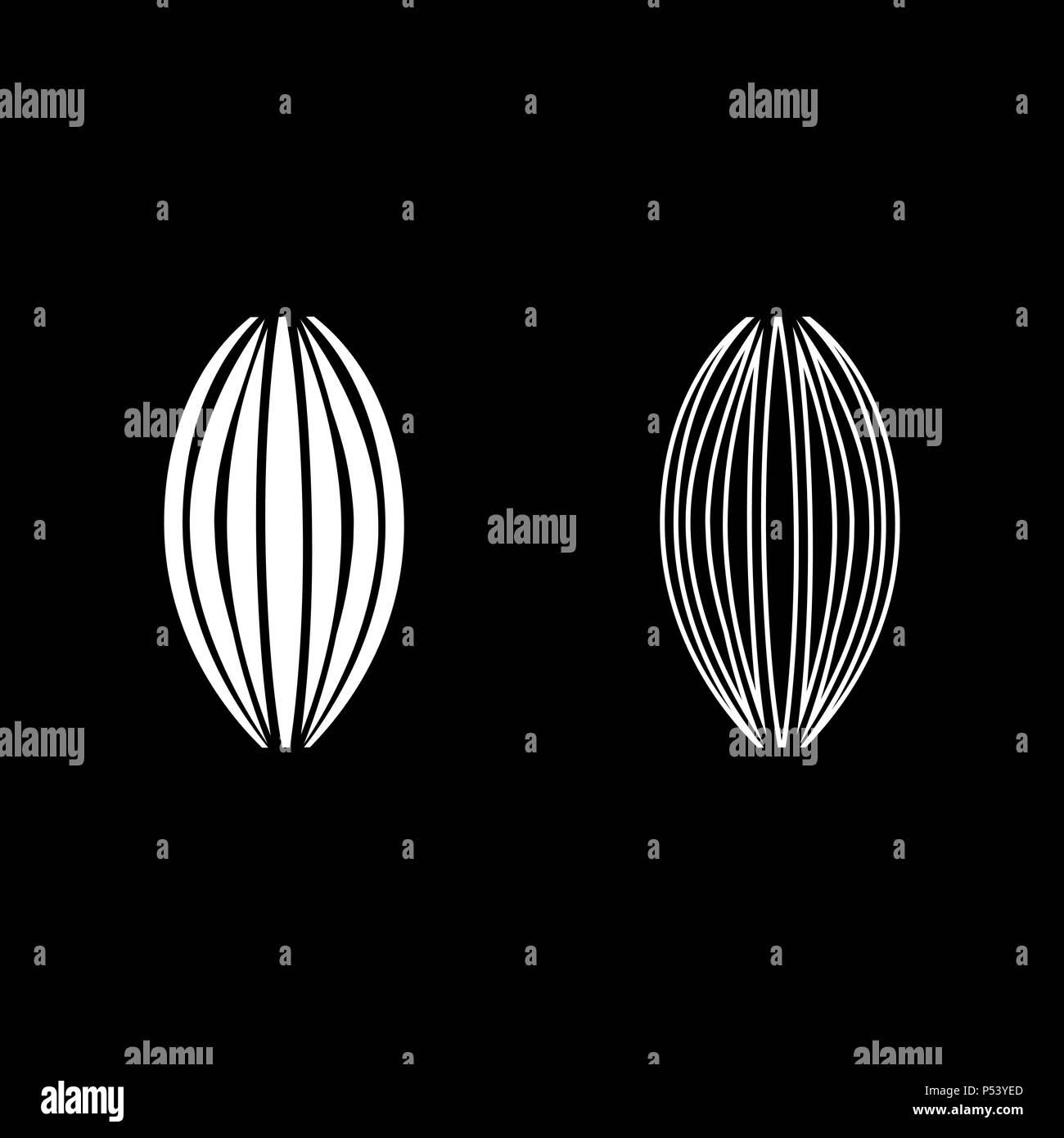 Conjunto de iconos de color blanco muscular ilustración vectorial tipo plano simple imagen Imagen De Stock