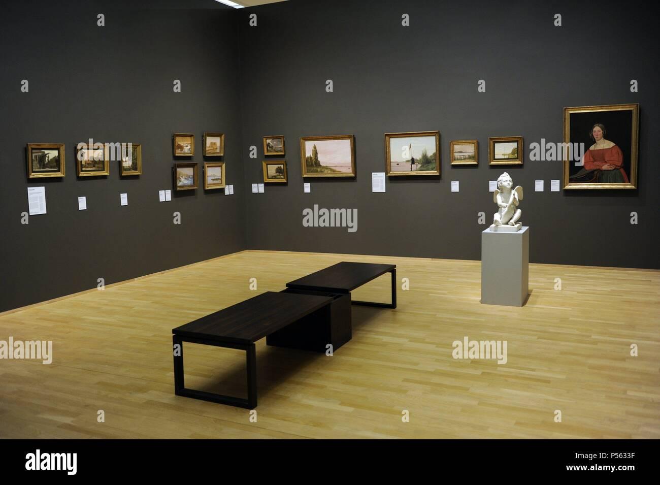 Dinamarca. Copenhague. Museo Nacional de Arte de Interior. Foto de stock