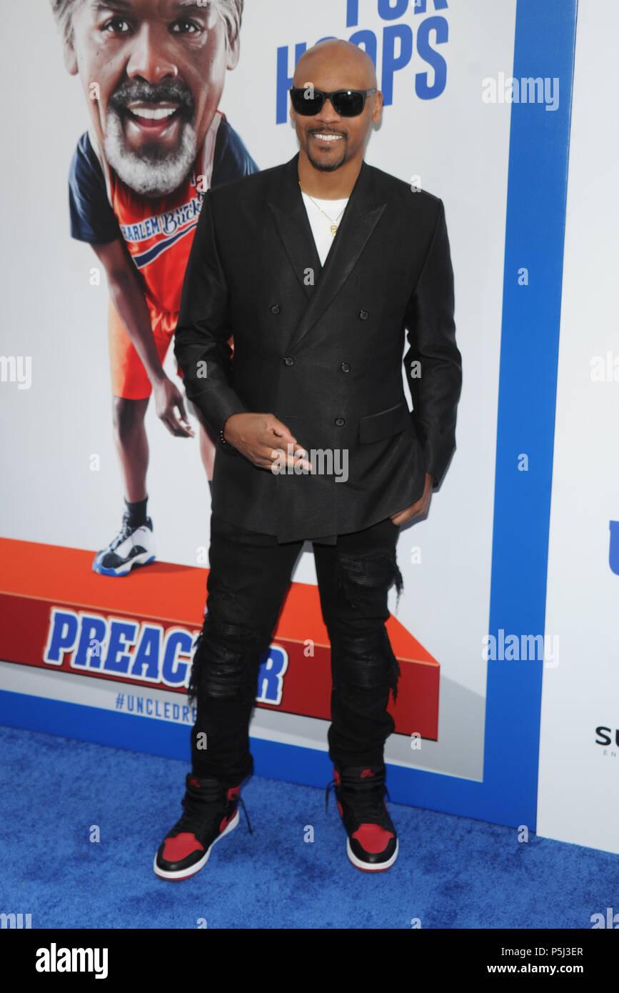 Nueva York, NY, EUA. El 26 de junio, 2018. Lavar Walker asiste al estreno mundial de 'Tío llamó' en Alice Tully Hall el 26 de junio de 2018, en la Ciudad de Nueva York. Crédito: John Palmer/Media Punch/Alamy Live News Imagen De Stock