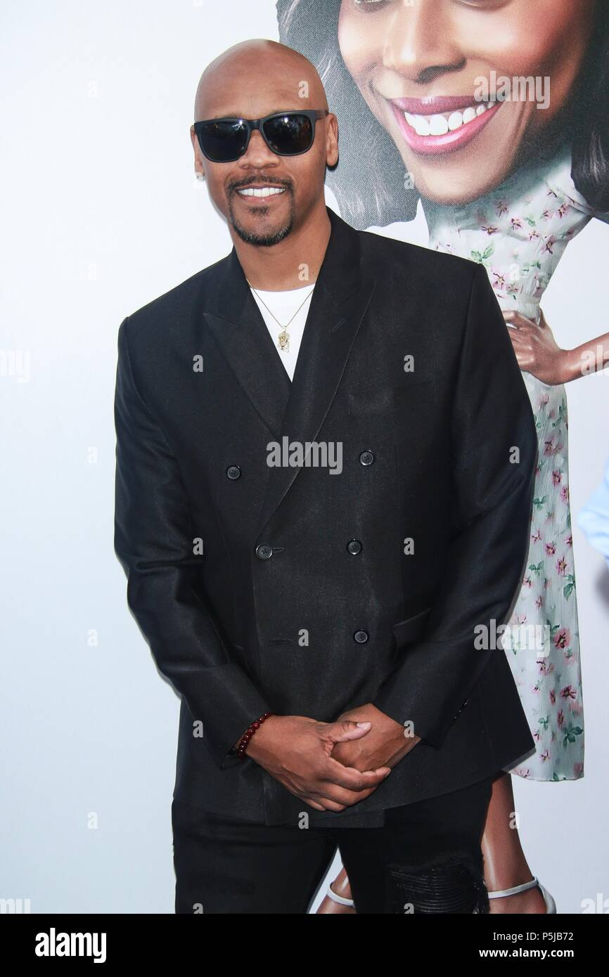 NEW YORK, NY - Junio 26: Lavar Walker en el estreno mundial de tío llamó a Alice Tully Hall el 26 de junio de 2018, en la Ciudad de Nueva York. Crédito: Diego Corredor/MediaPunch Imagen De Stock
