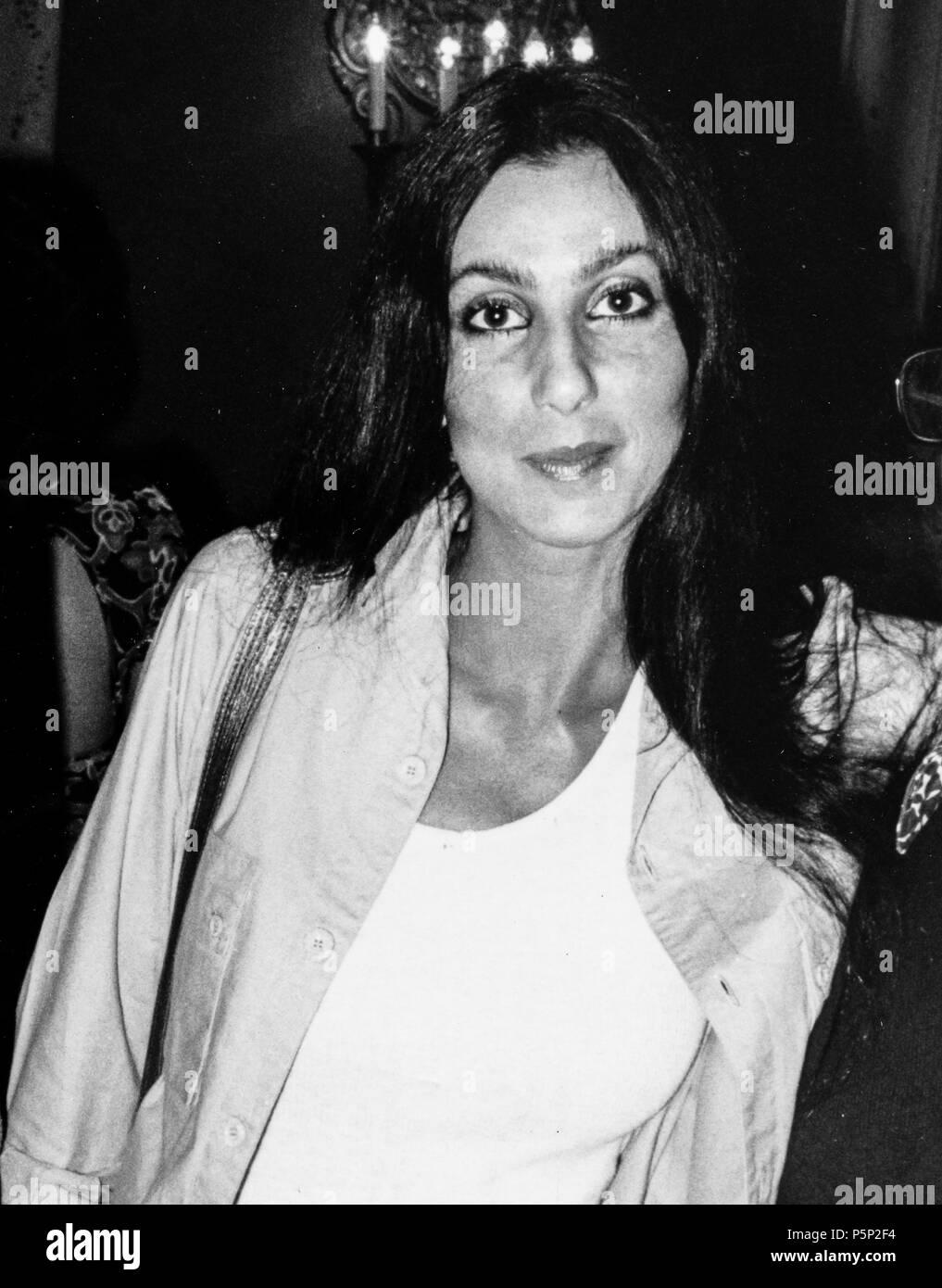 Cher, 60s Imagen De Stock