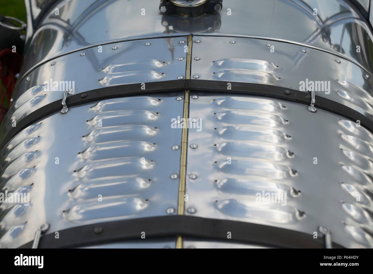 145e8075ed Detalle del capot, ópticas, de vintage Austin siete Foto & Imagen De ...