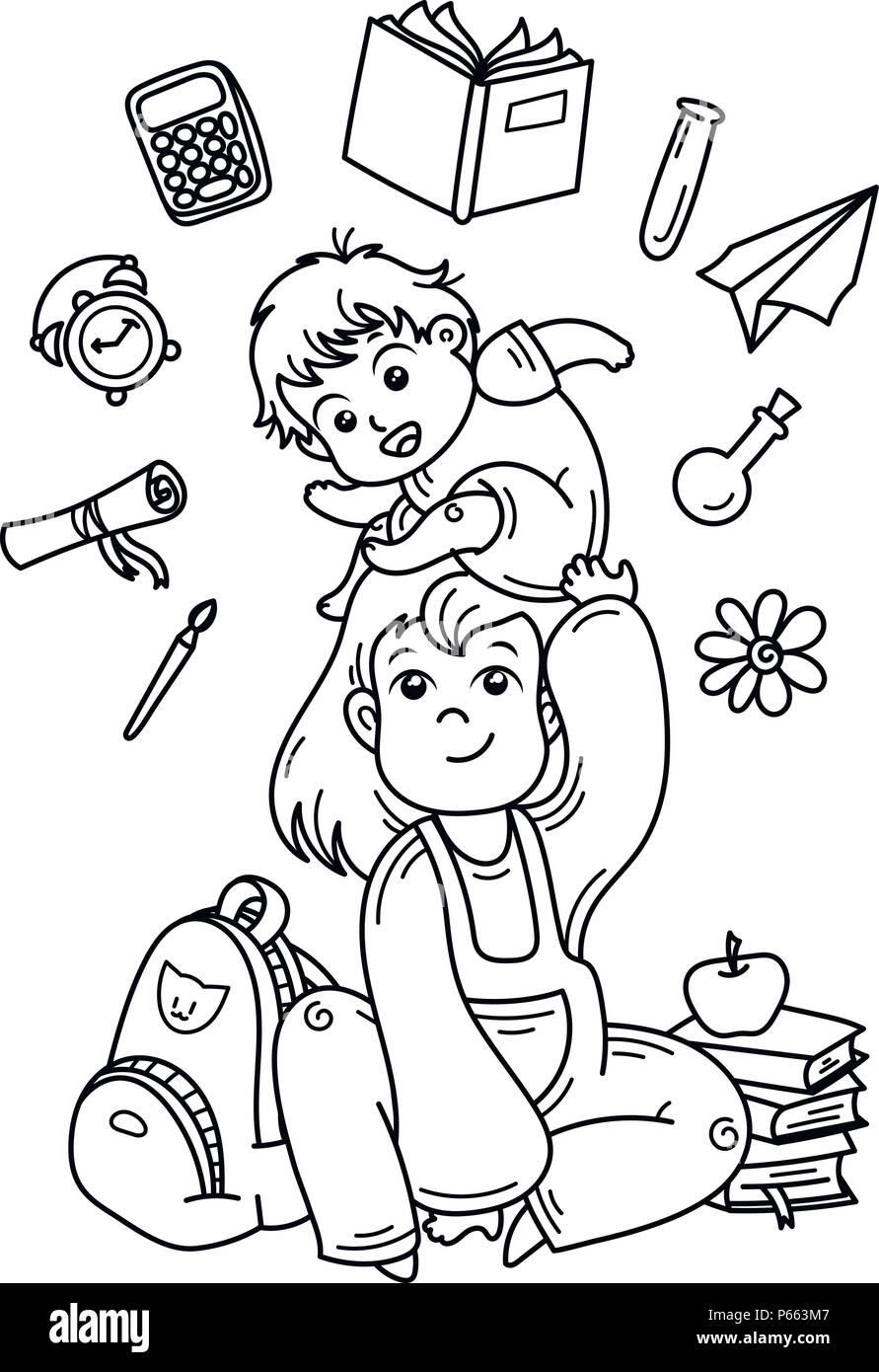 Moderno Libro Para Colorear De Bebé Galería - Ideas Creativas para ...