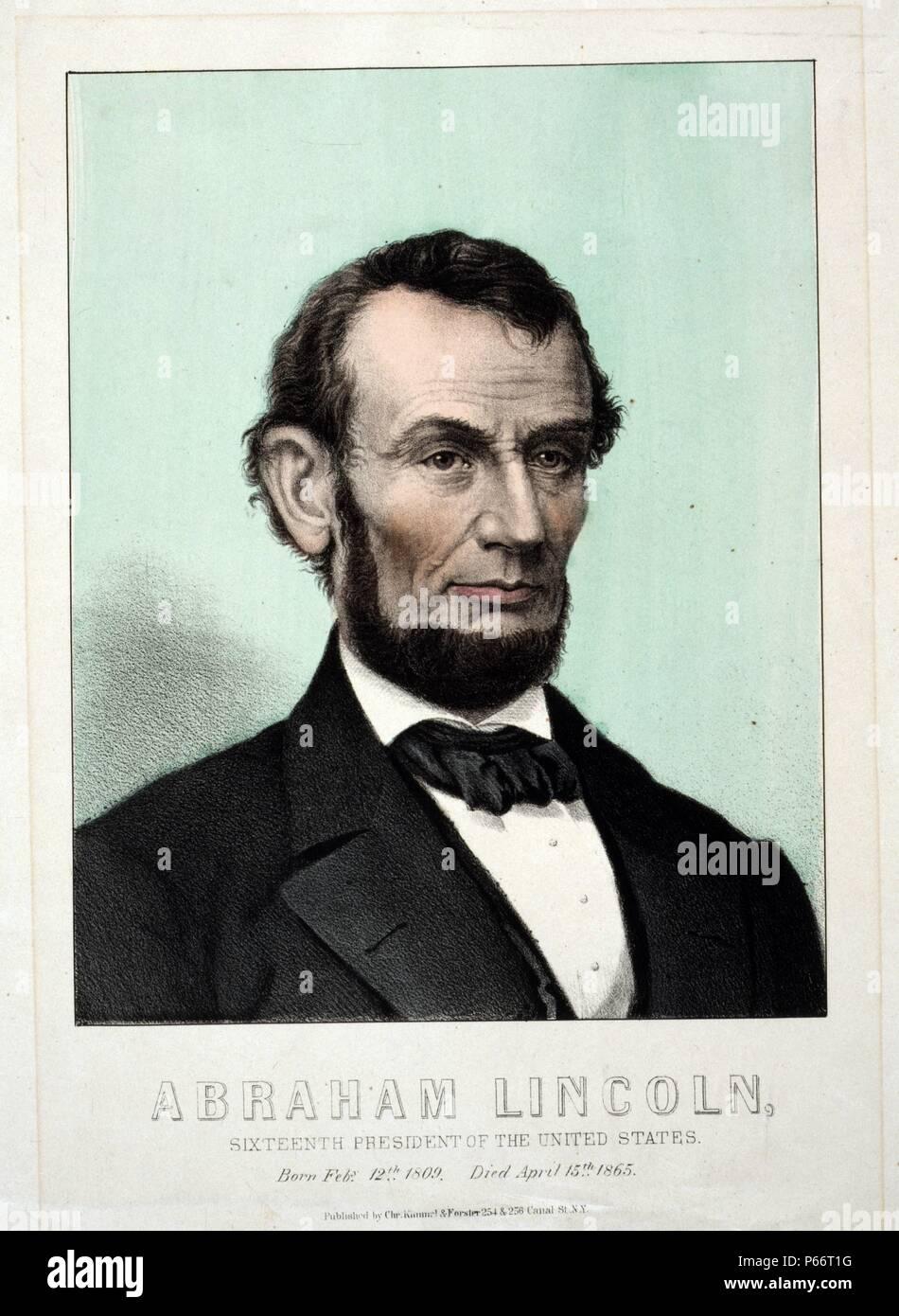 Magnífico Página Para Colorear De Abraham Lincoln Regalo - Enmarcado ...