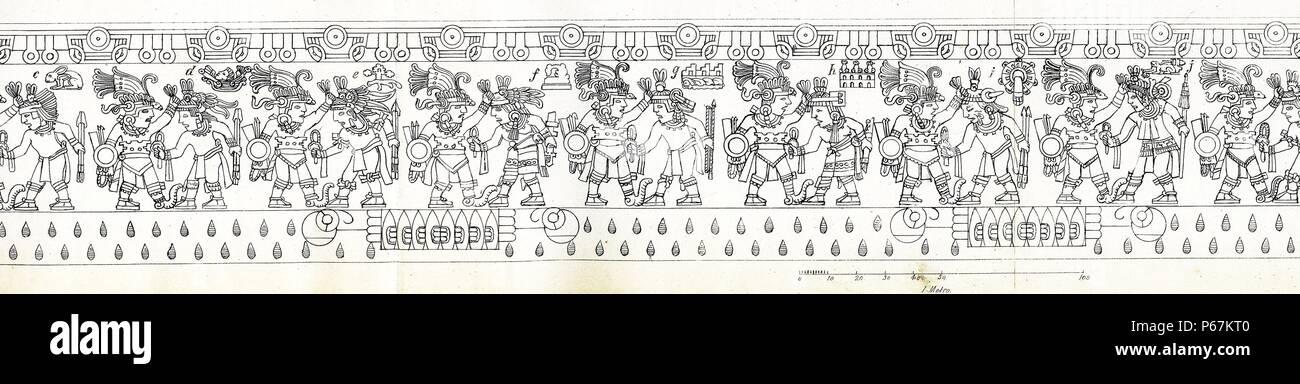 Aztec Drawing Imágenes De Stock & Aztec Drawing Fotos De Stock - Alamy
