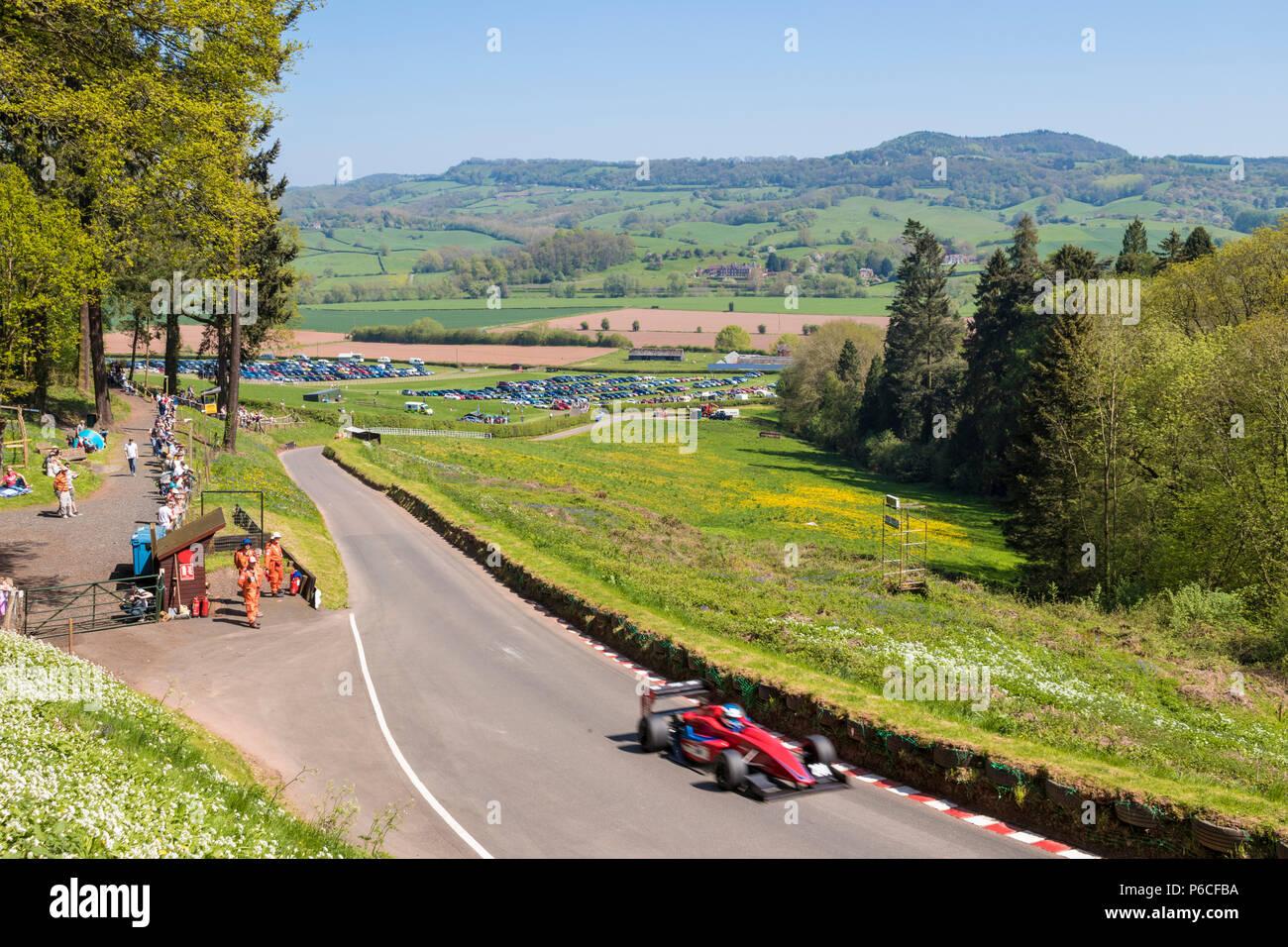 Walsh shelsey Hill Climb Imagen De Stock