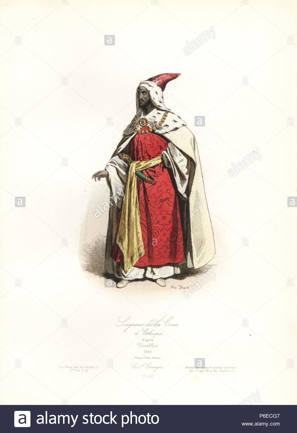 Maestro de la Corte de Etiopía, después de Tiziano Vicellio, 1590 ...