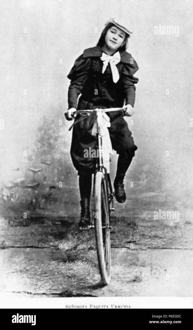 Español: Señorita Paquita Urrutia, hija del ingeniero Claudio Urrutia. 1896 . 1896 66 Paquitaurrutia1896 Imagen De Stock