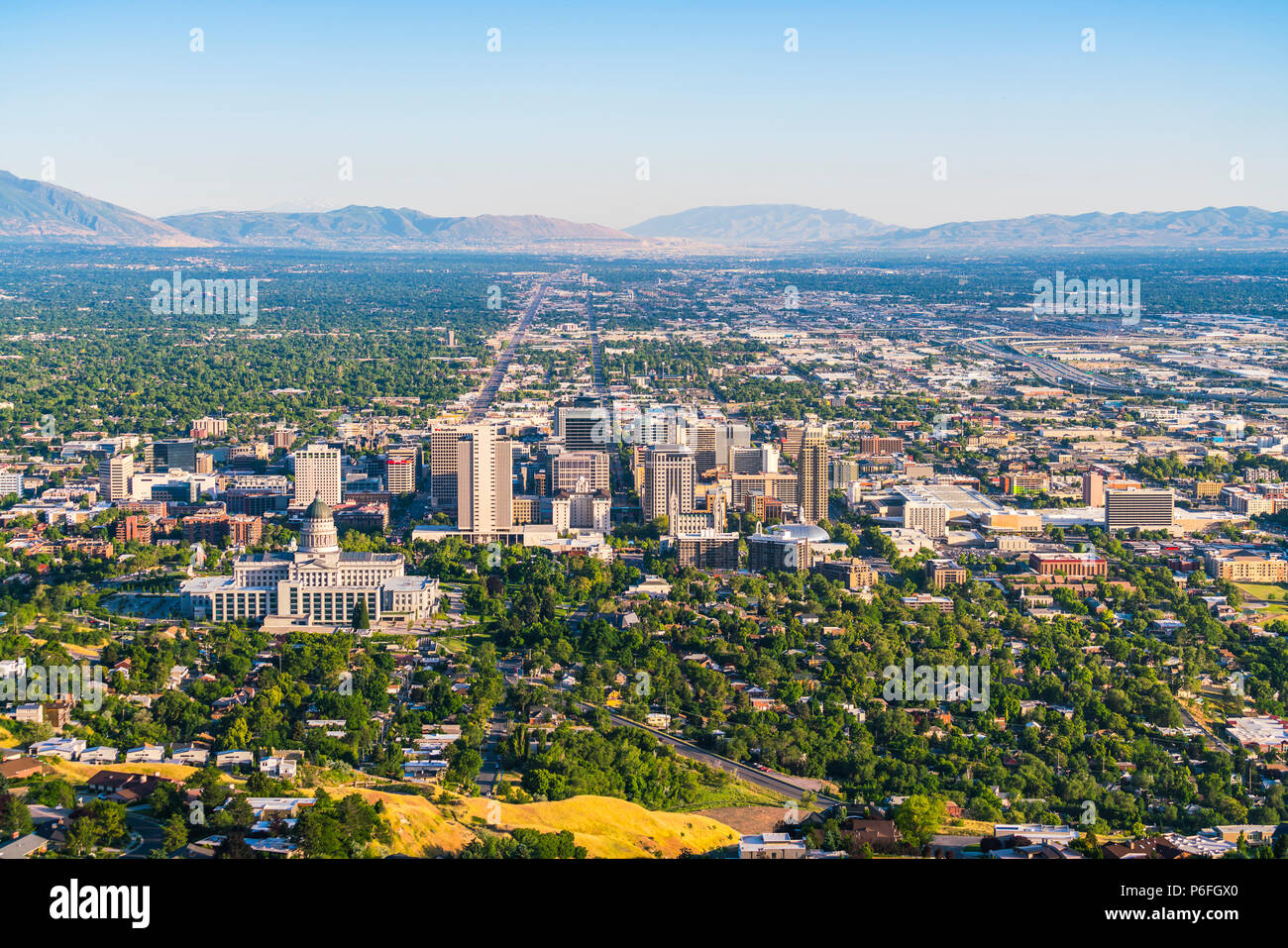 Salt Lake City Scenic Imágenes De Stock & Salt Lake City Scenic ...