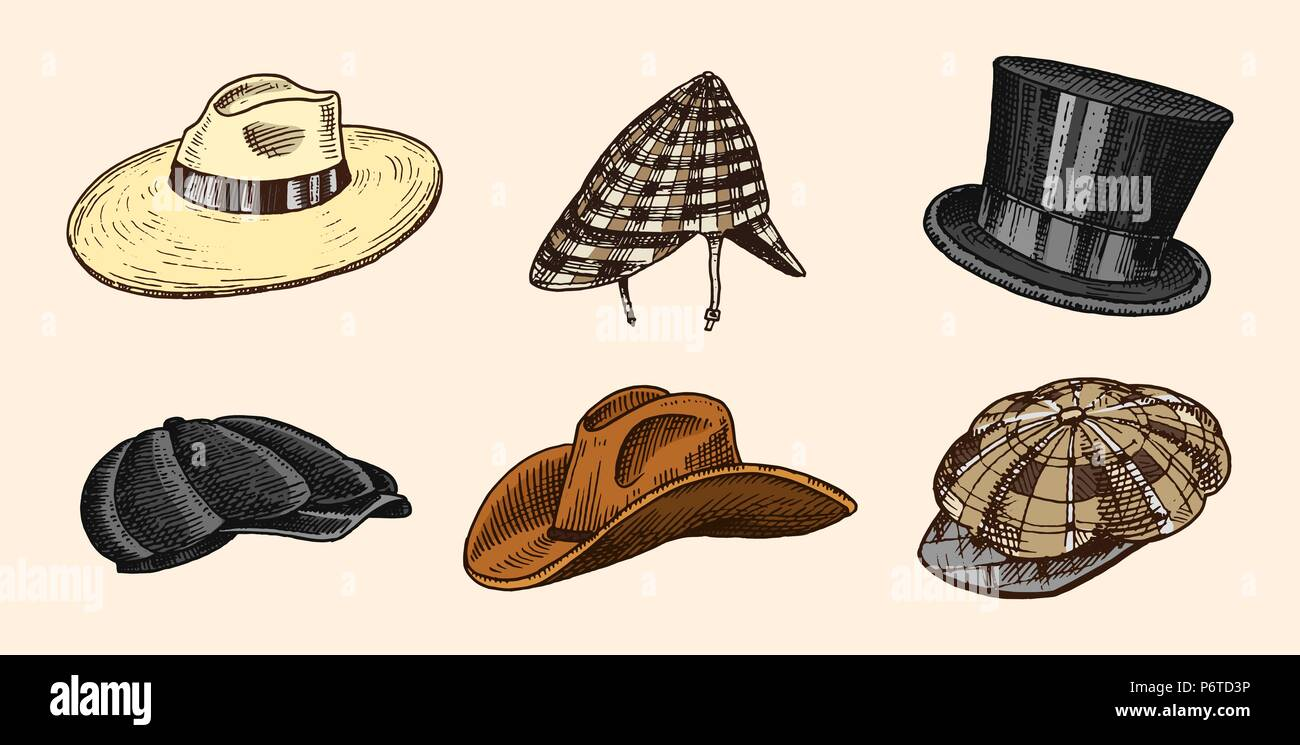 Cosecha de verano Colección de sombreros para hombres a1274ba7753