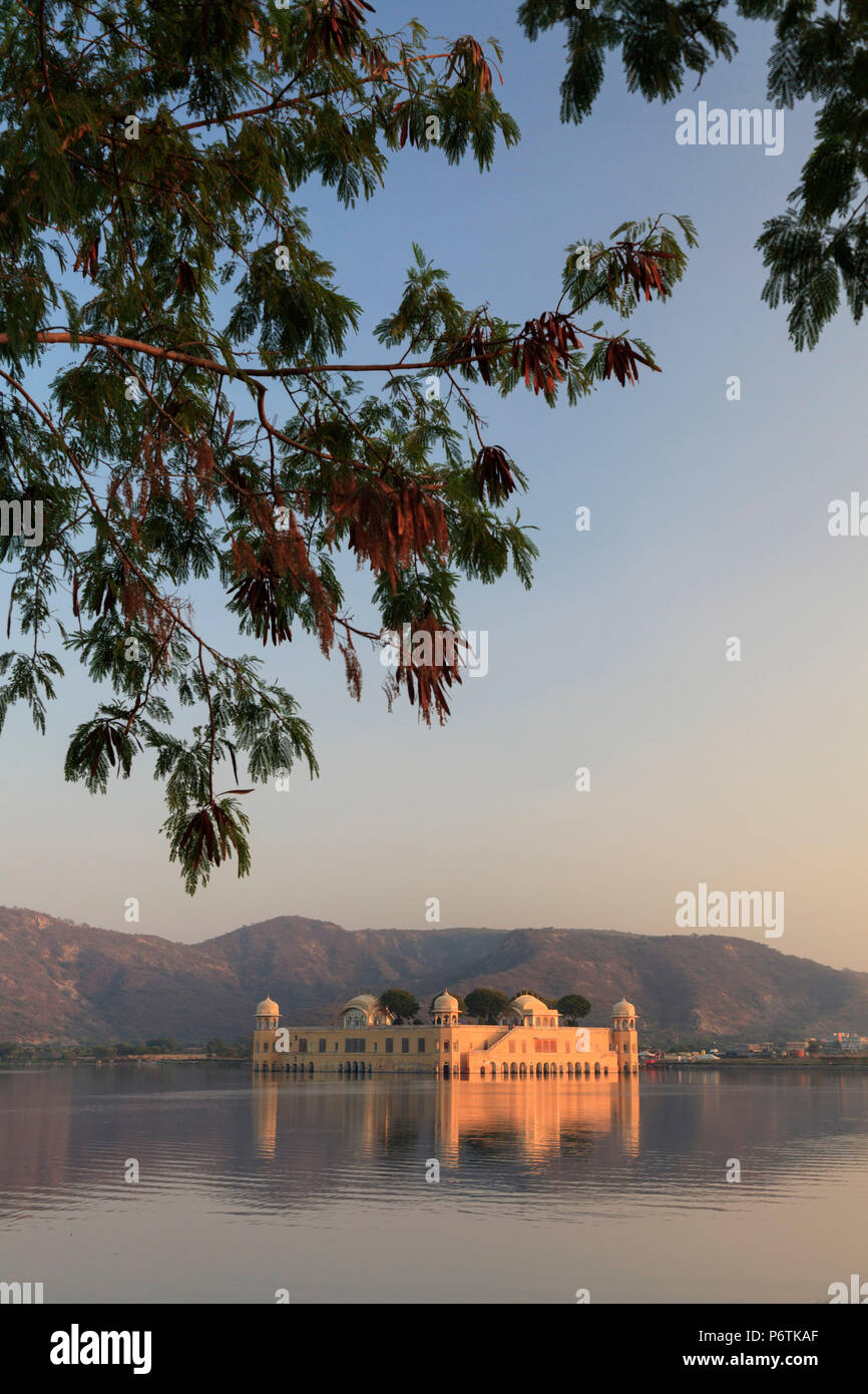 La India, Rajastán, Jaipur, Jal Mahal (palacio del agua) Imagen De Stock